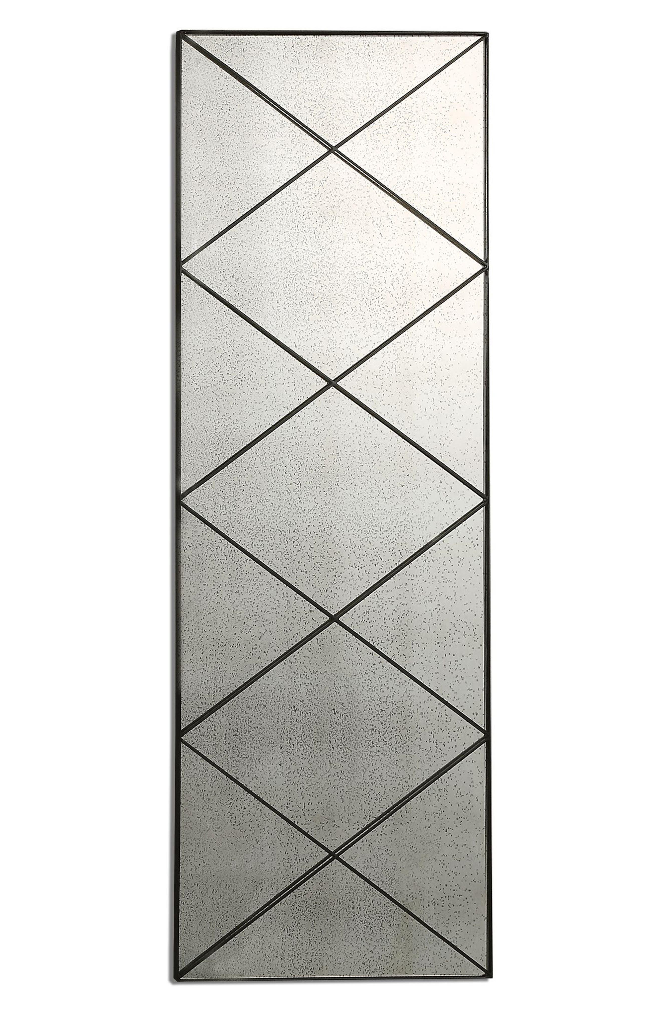 Emporia Wall Mirror,                         Main,                         color, Grey