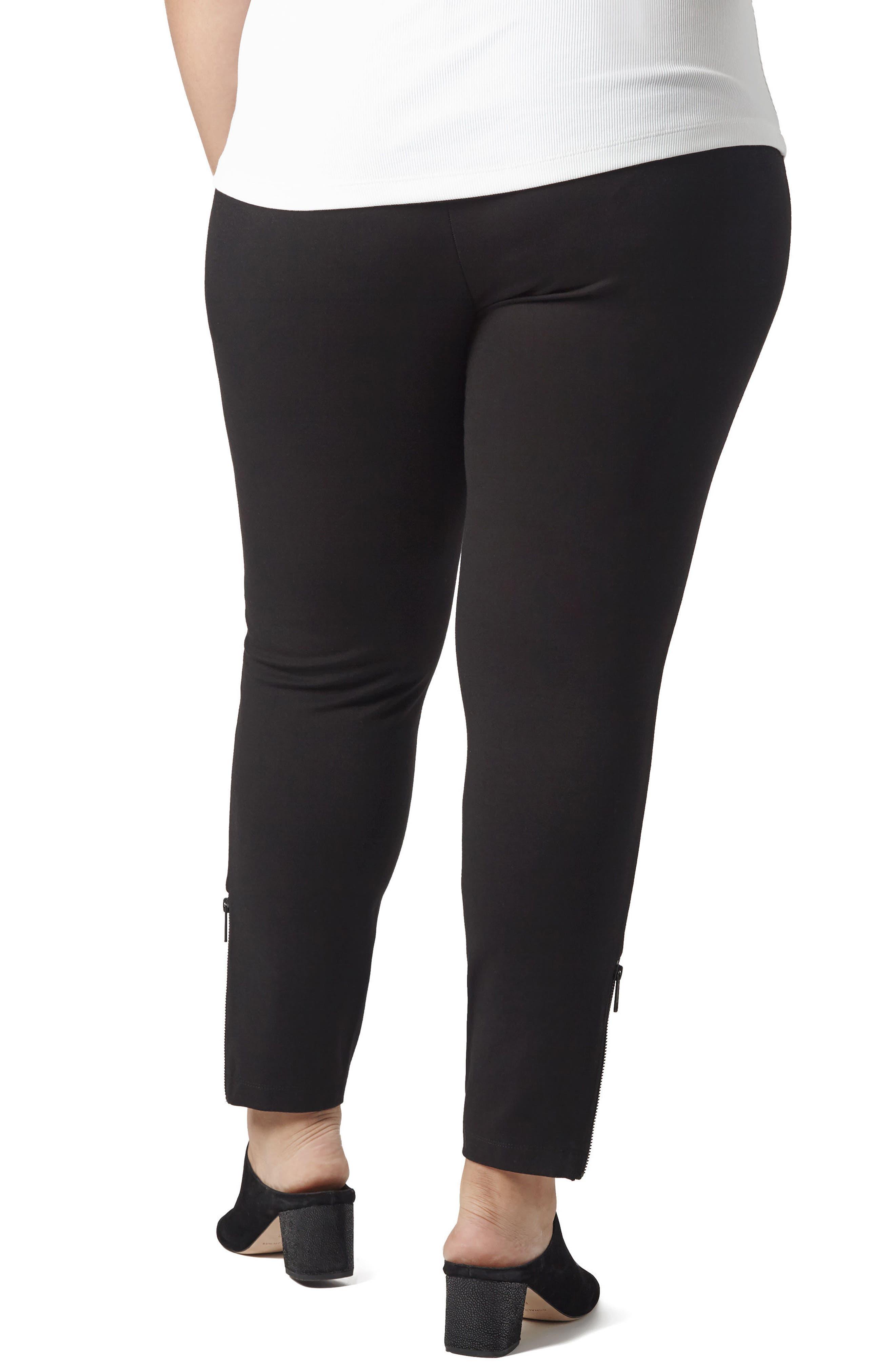 Alternate Image 2  - UNIVERSAL STANDARD Moro Ponte Knit Pants (Plus Size)