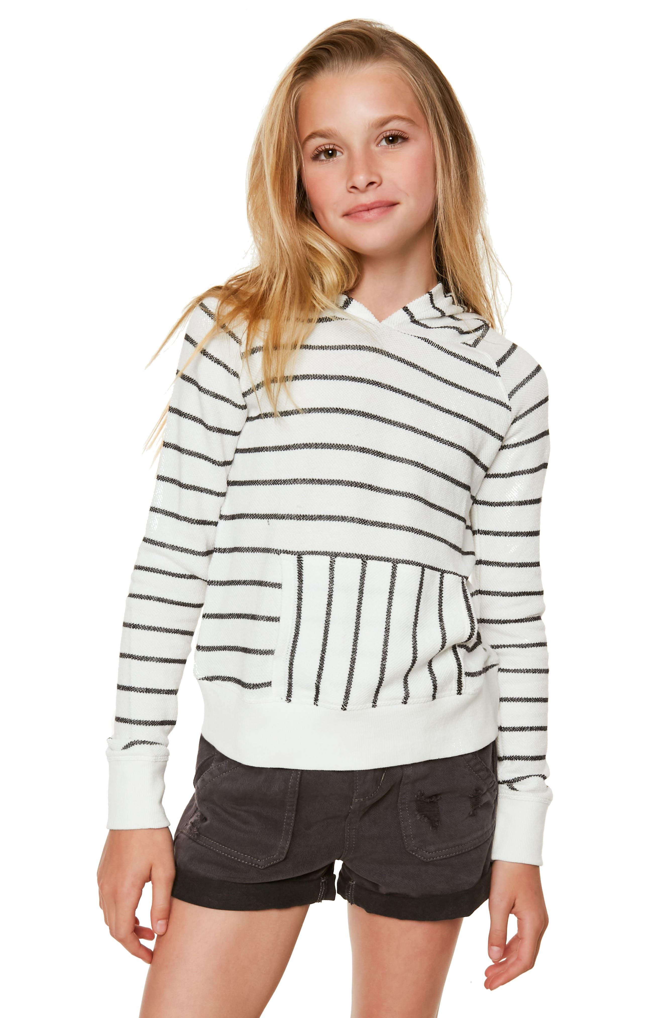 O'Neill Montana Stripe Hoodie (Big Girls)
