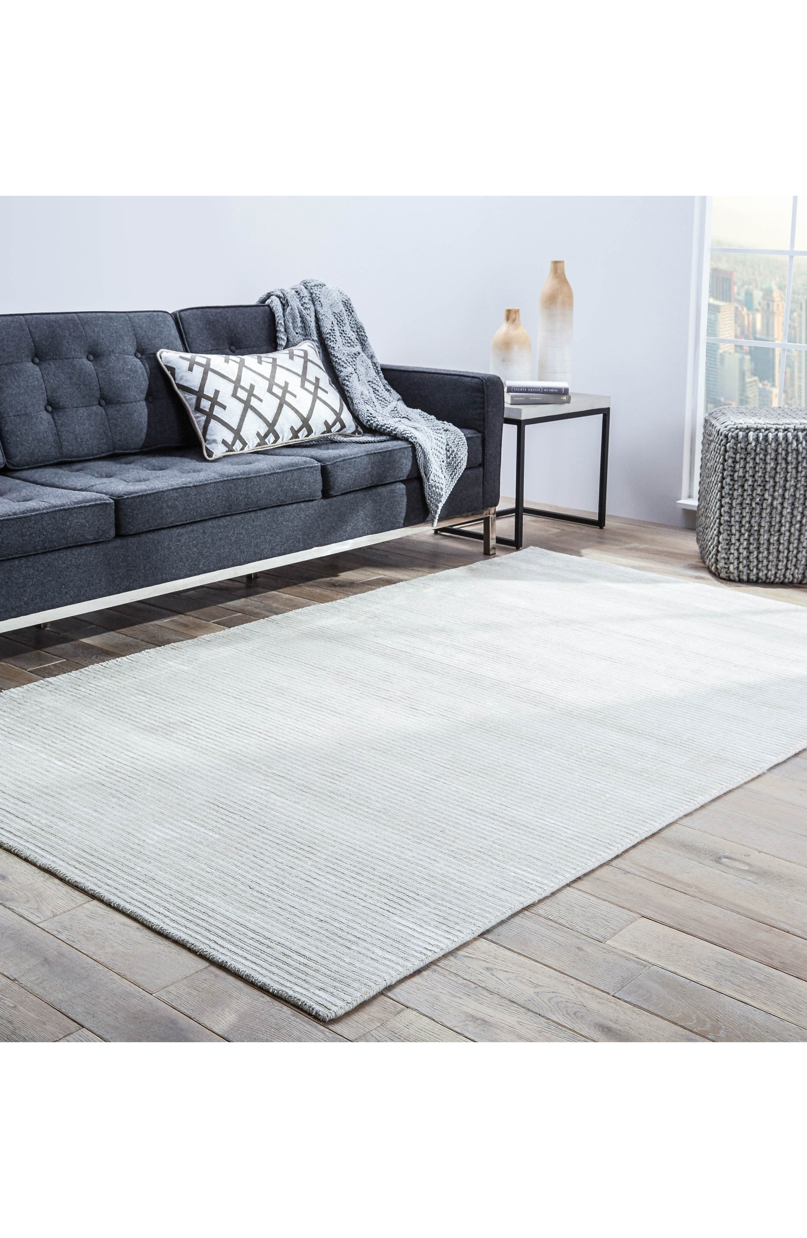 Basis Rug,                             Alternate thumbnail 5, color,                             Snow White
