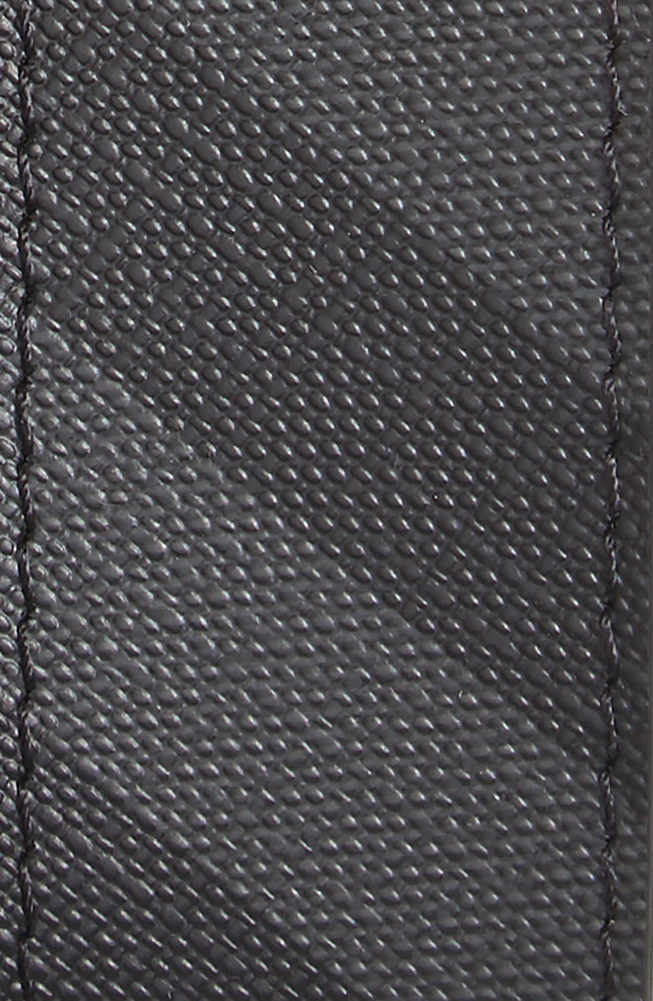 London Check George Reversible Belt,                             Alternate thumbnail 2, color,                             Charcoal/ Black