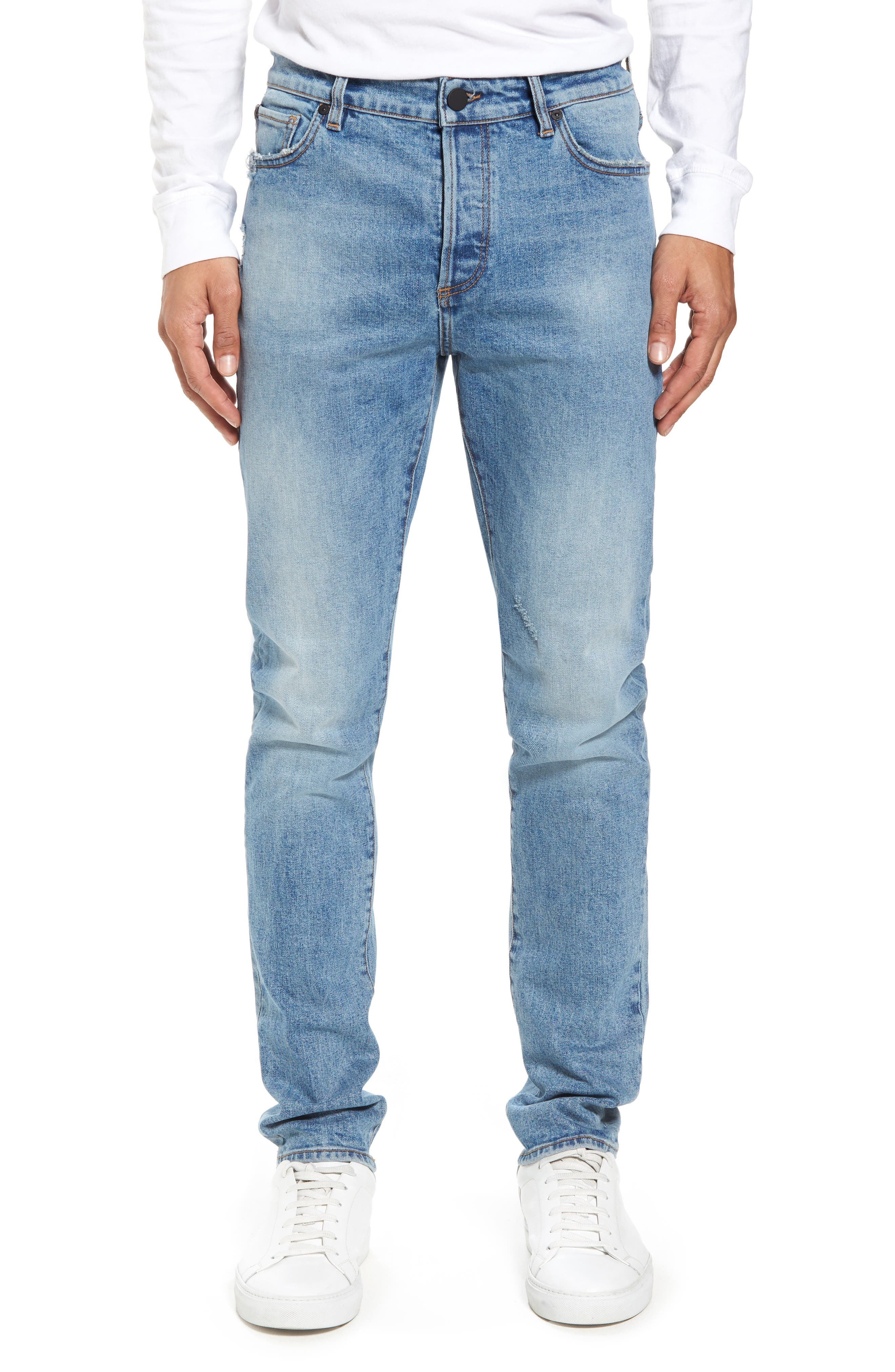 Cooper Slouchy Skinny Jeans,                         Main,                         color, Breathe
