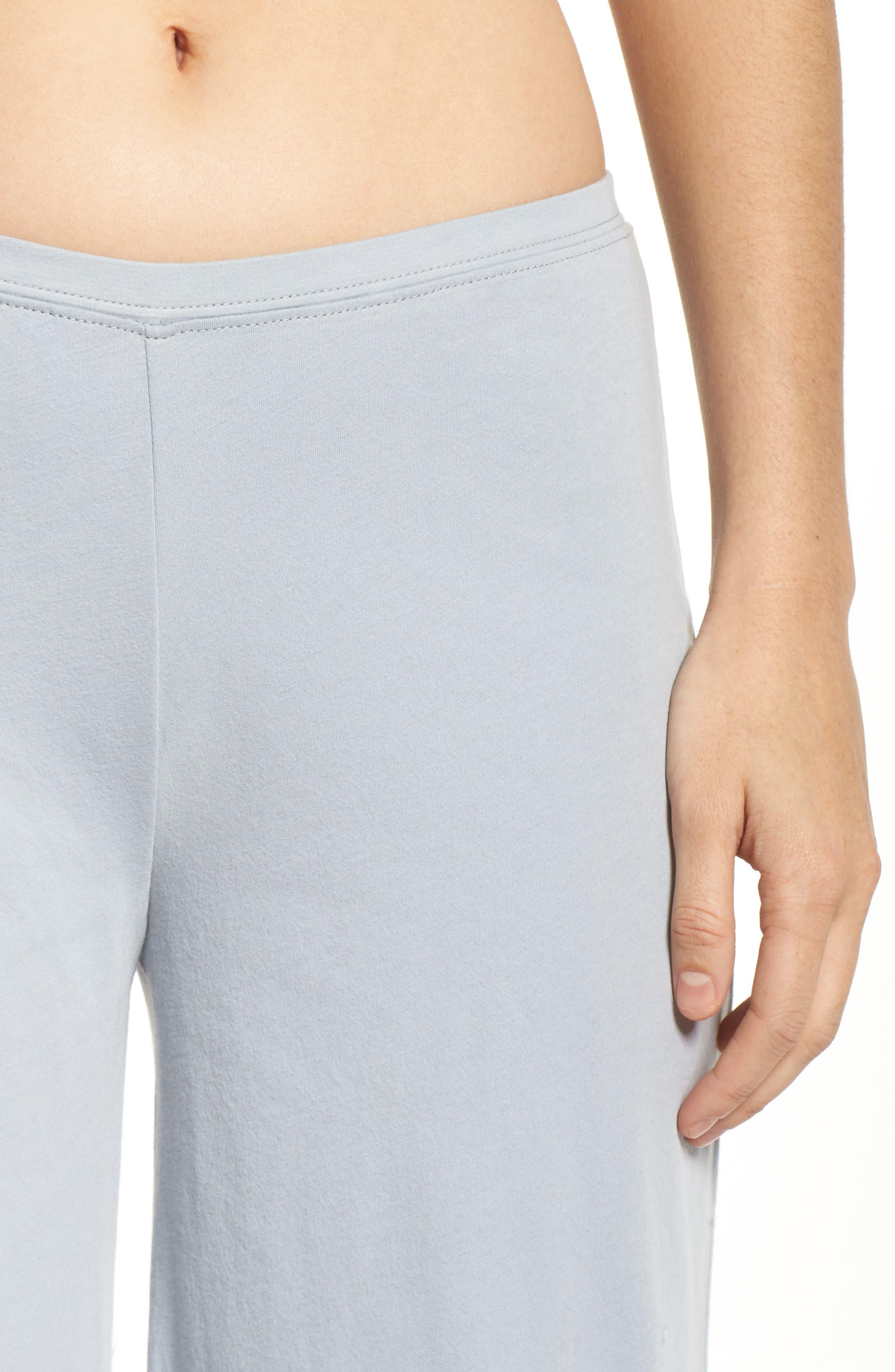 Alternate Image 4  - skin Pima Cotton Lounge Pants
