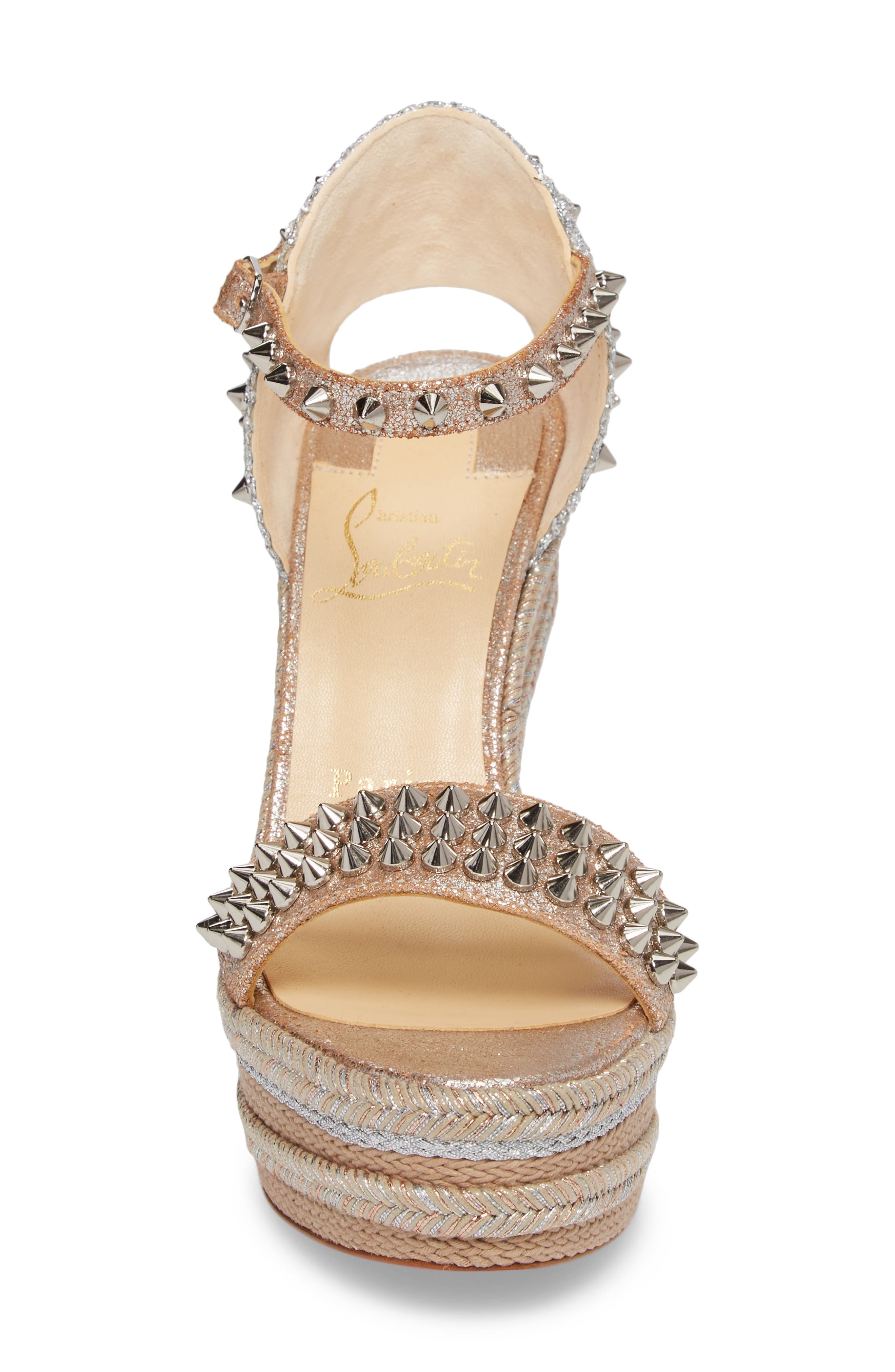 Alternate Image 4  - Christian Louboutin Madmonica Espadrille Platform Sandal (Women)