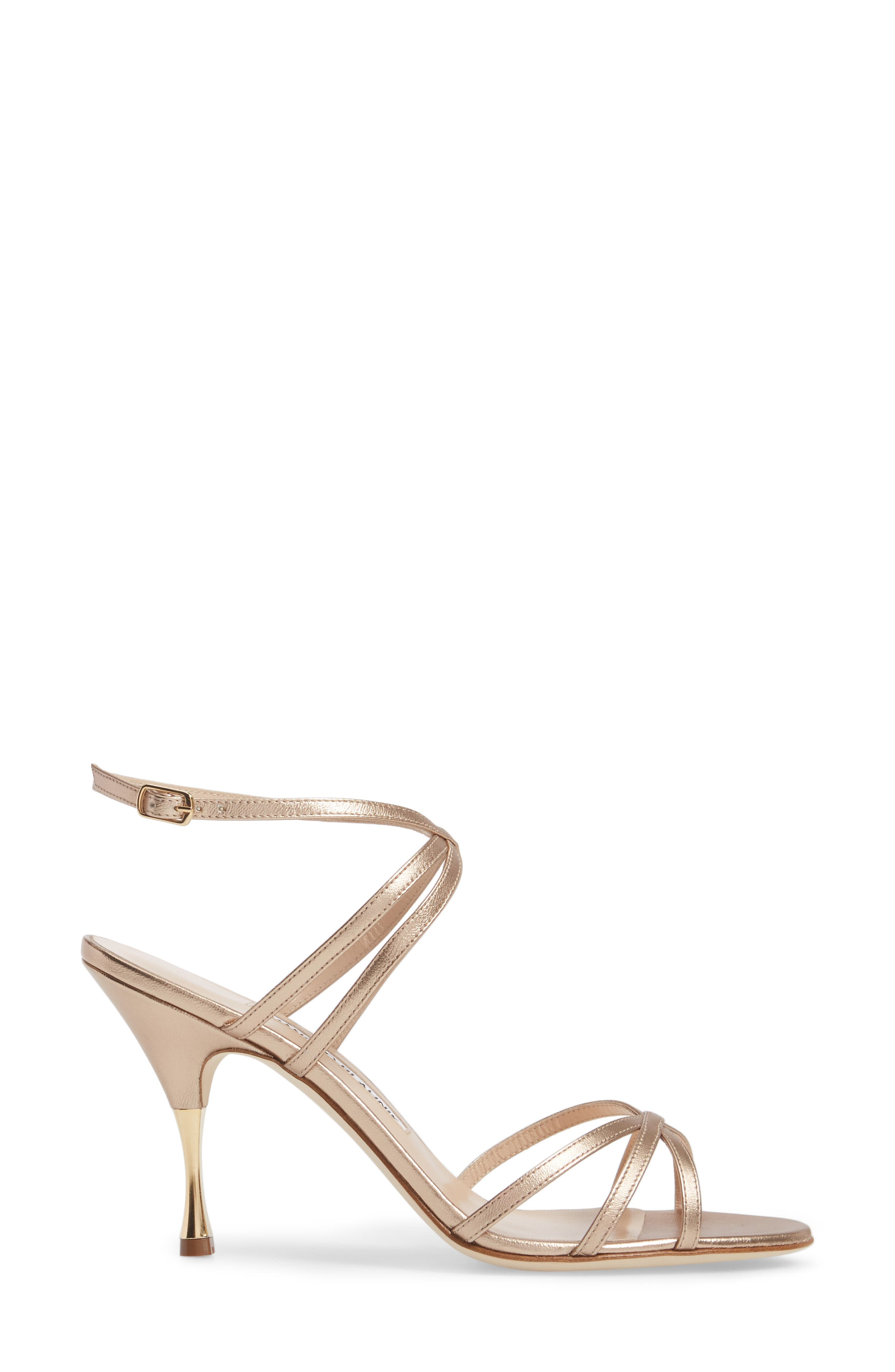 Alternate Image 3  - Manolo Blahnik Naro Ankle Strap Sandal (Women)
