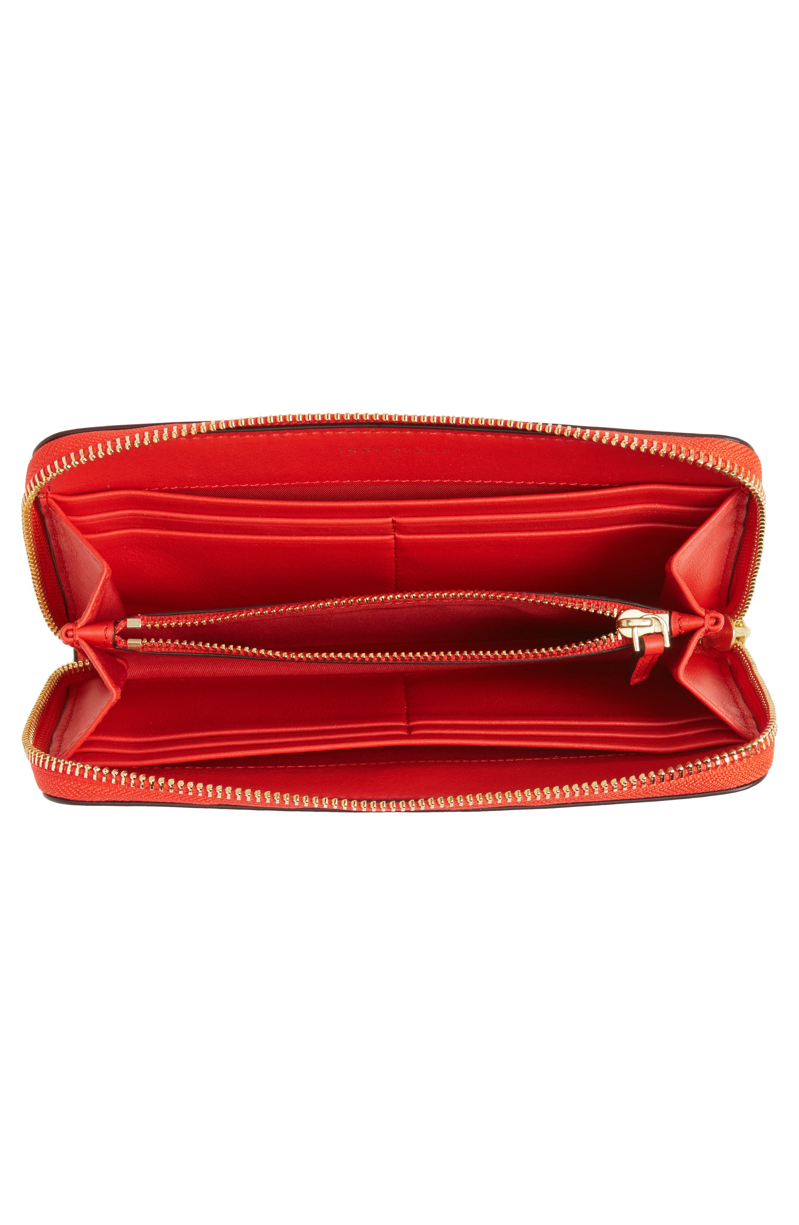 Alternate Image 2  - Tory Burch Robinson Patent Leather Continental Wallet