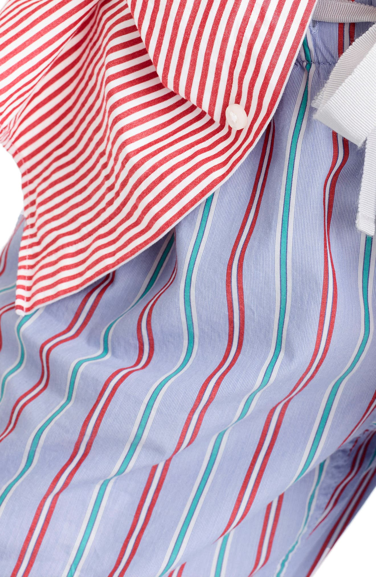 Candy Cane Pajama Pants,                             Alternate thumbnail 3, color,                             Holiday Stripe