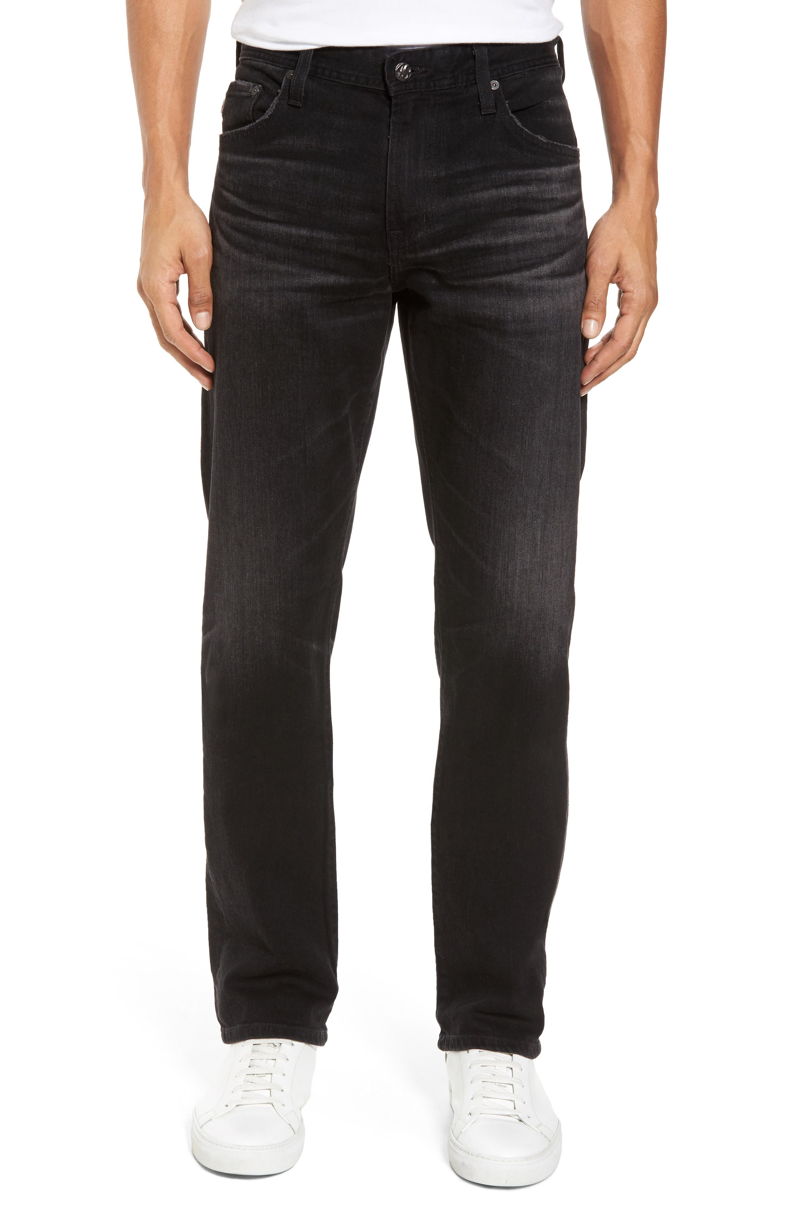 Graduate Slim Straight Fit Jeans,                             Main thumbnail 1, color,                             4 Years Down