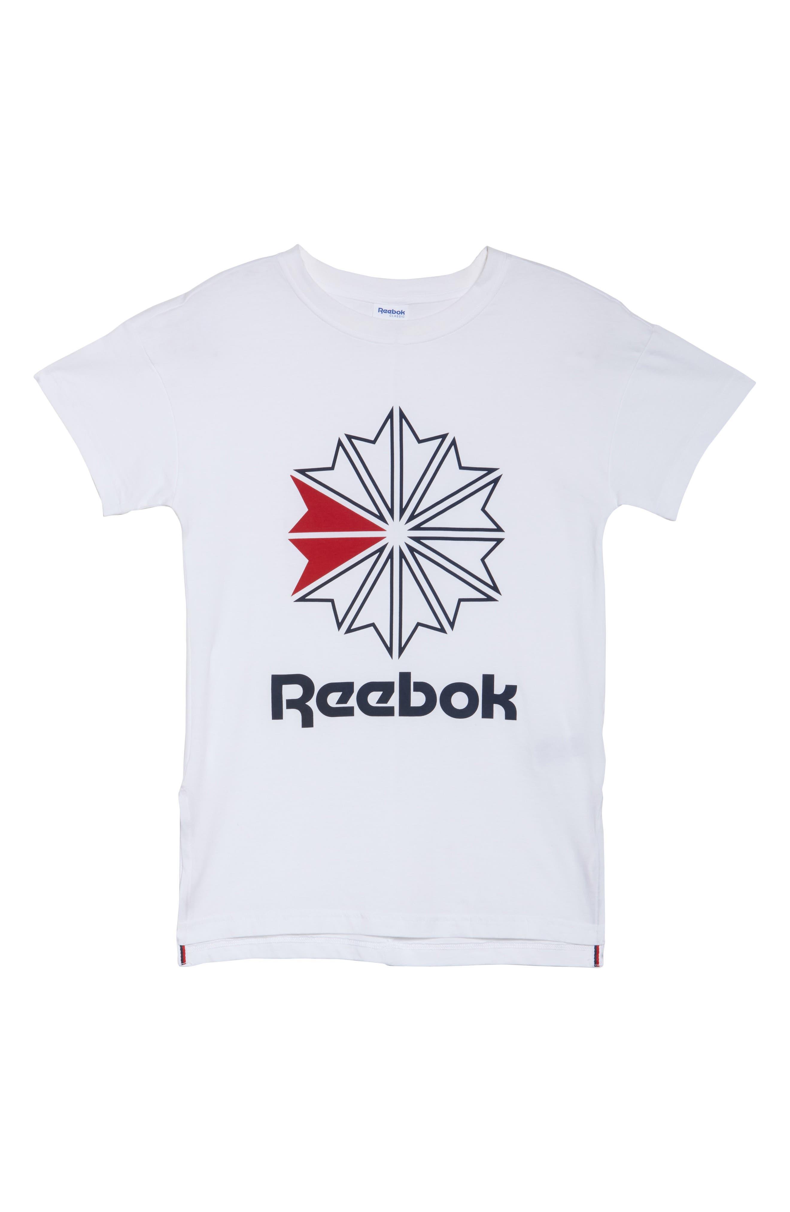 Alternate Image 6  - Reebok Graphic Logo Tee