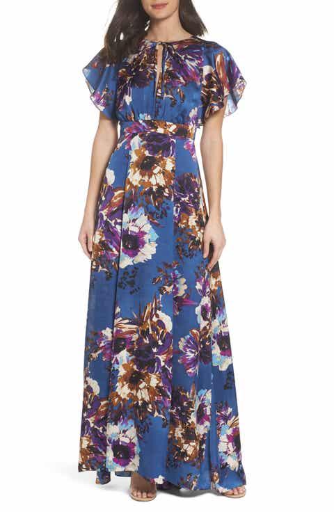 Ali Jay Floral Maxi Dress