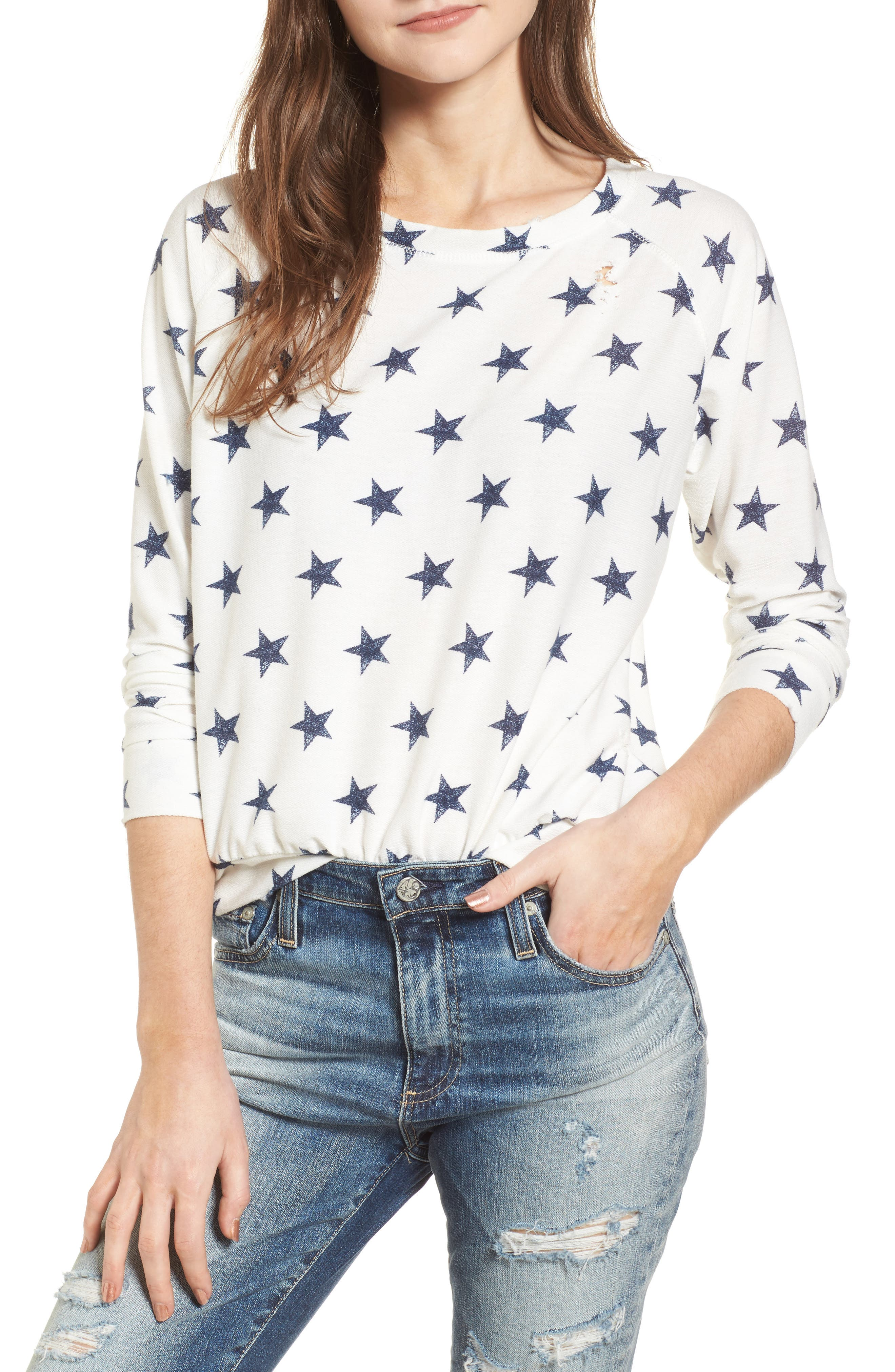 ALL OVER STARS PULLOVER