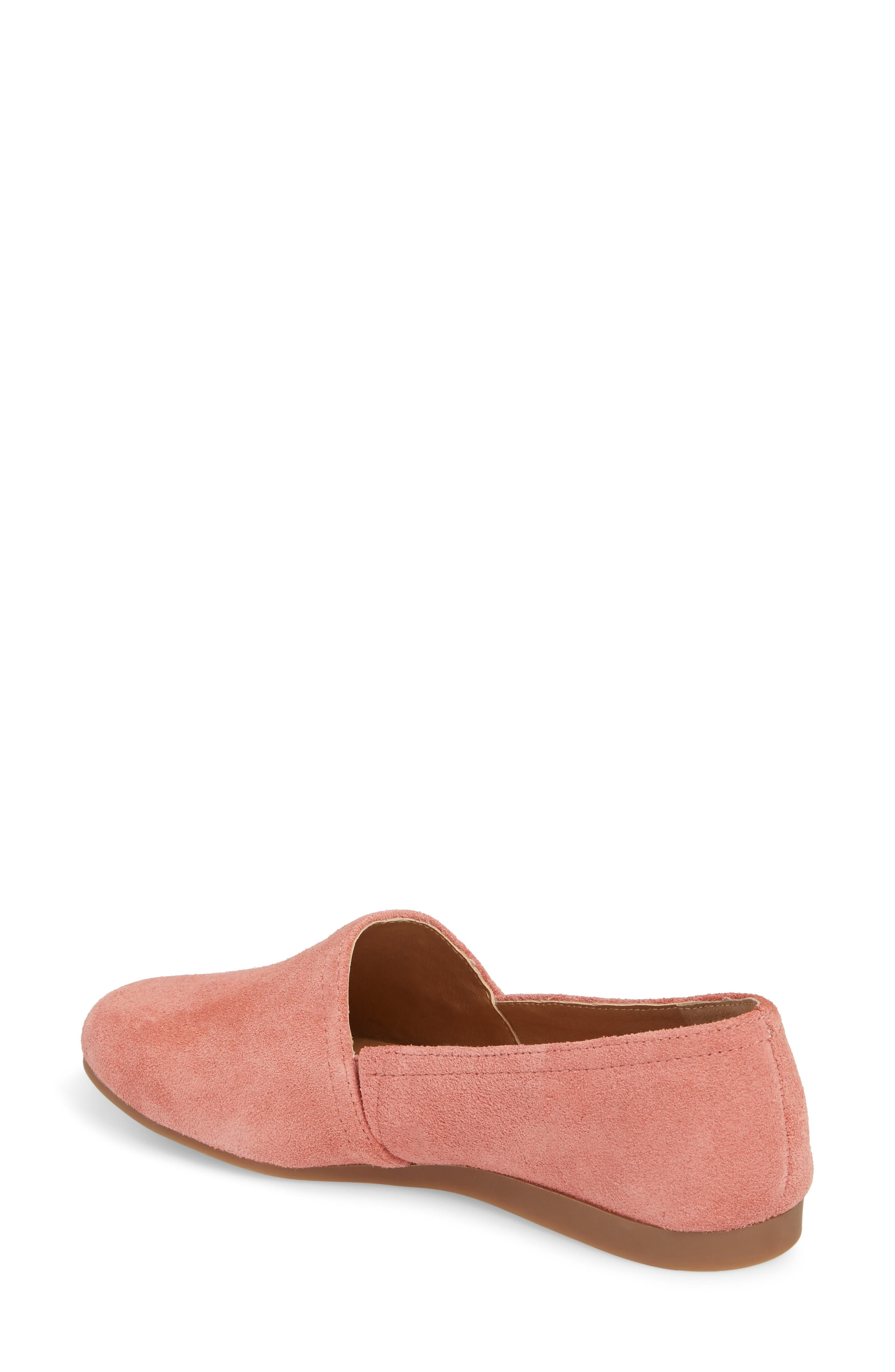 Brettany Loafer,                             Alternate thumbnail 2, color,                             Canyon Rose Suede