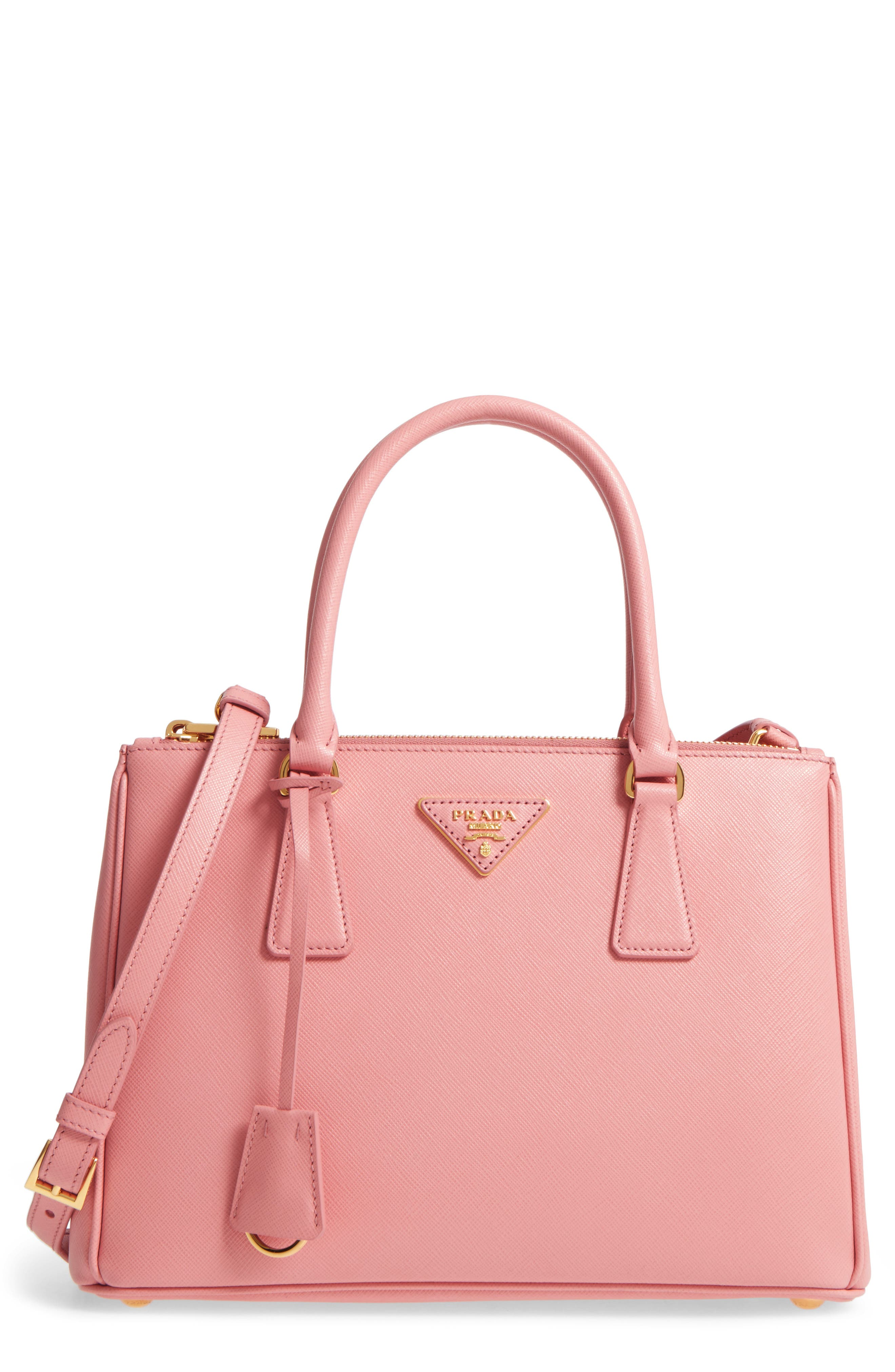Prada Saffiano Lux Leather Satchel