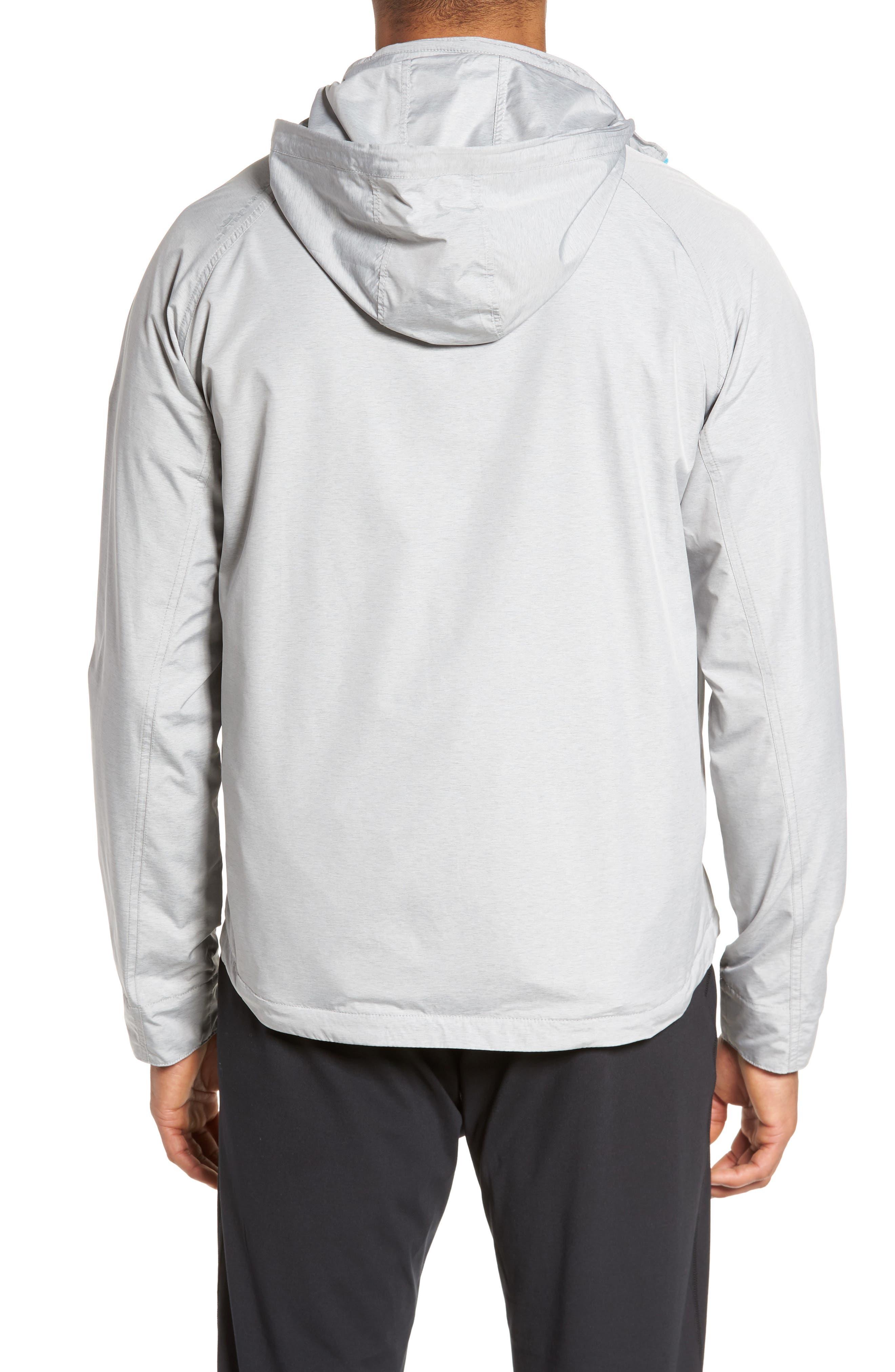 Nagano Windbreaker Jacket,                             Alternate thumbnail 2, color,                             British Grey