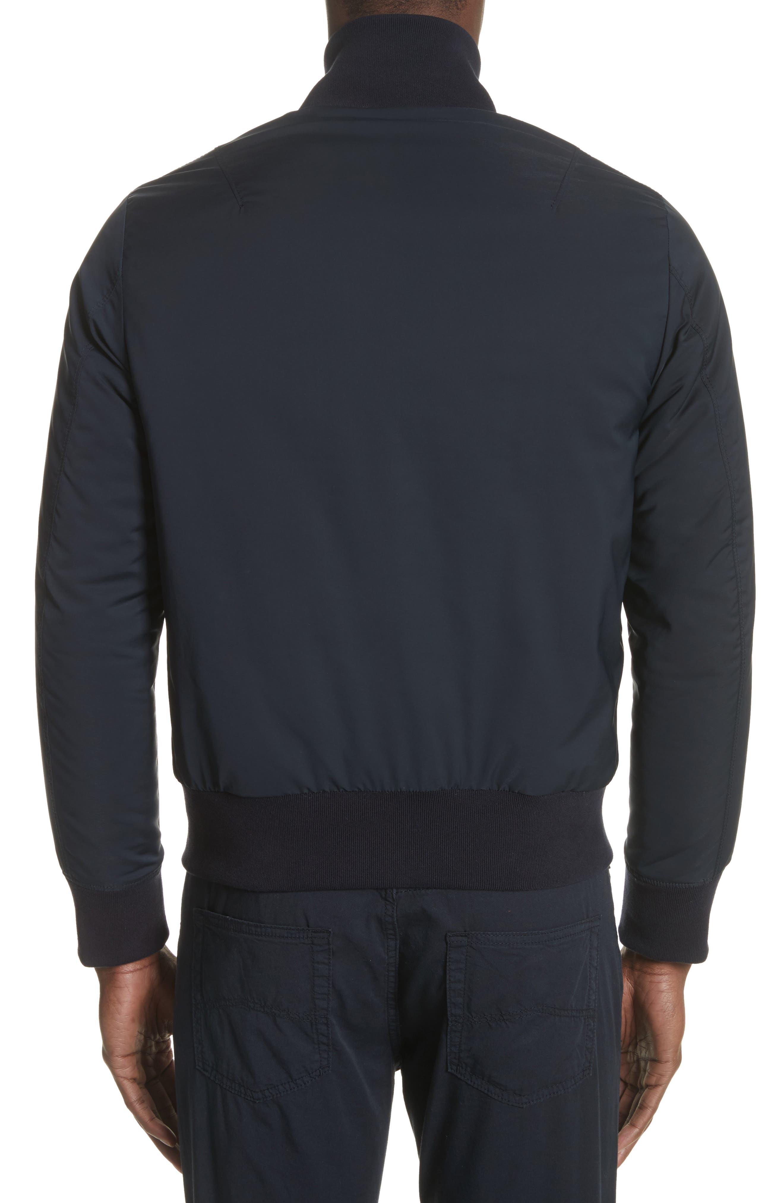 Colorblock Reversible Classic Fit Jacket,                             Alternate thumbnail 2, color,                             Blue Multi
