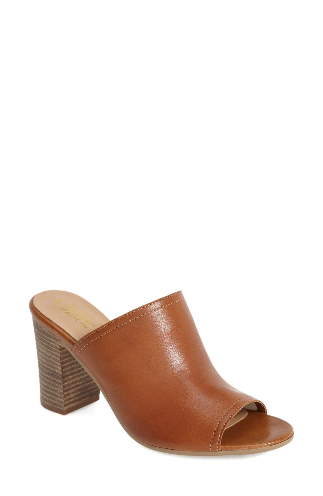 Alternate Image 1 Selected - Bella Vita 'Arno' Leather Mule (Women)