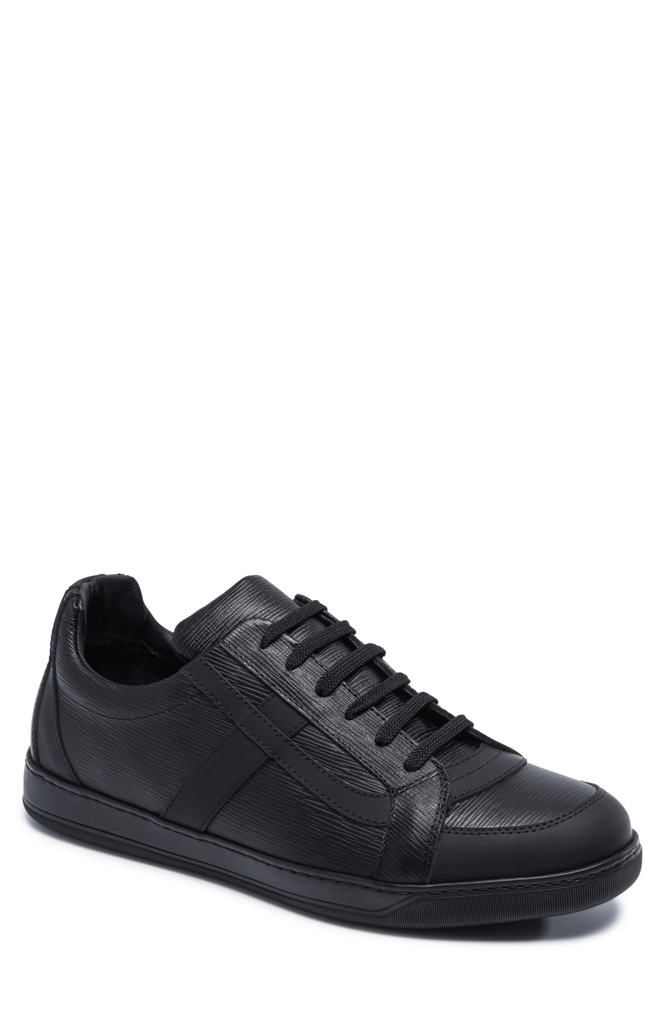 Novecento Sneaker,                         Main,                         color, Navy Leather