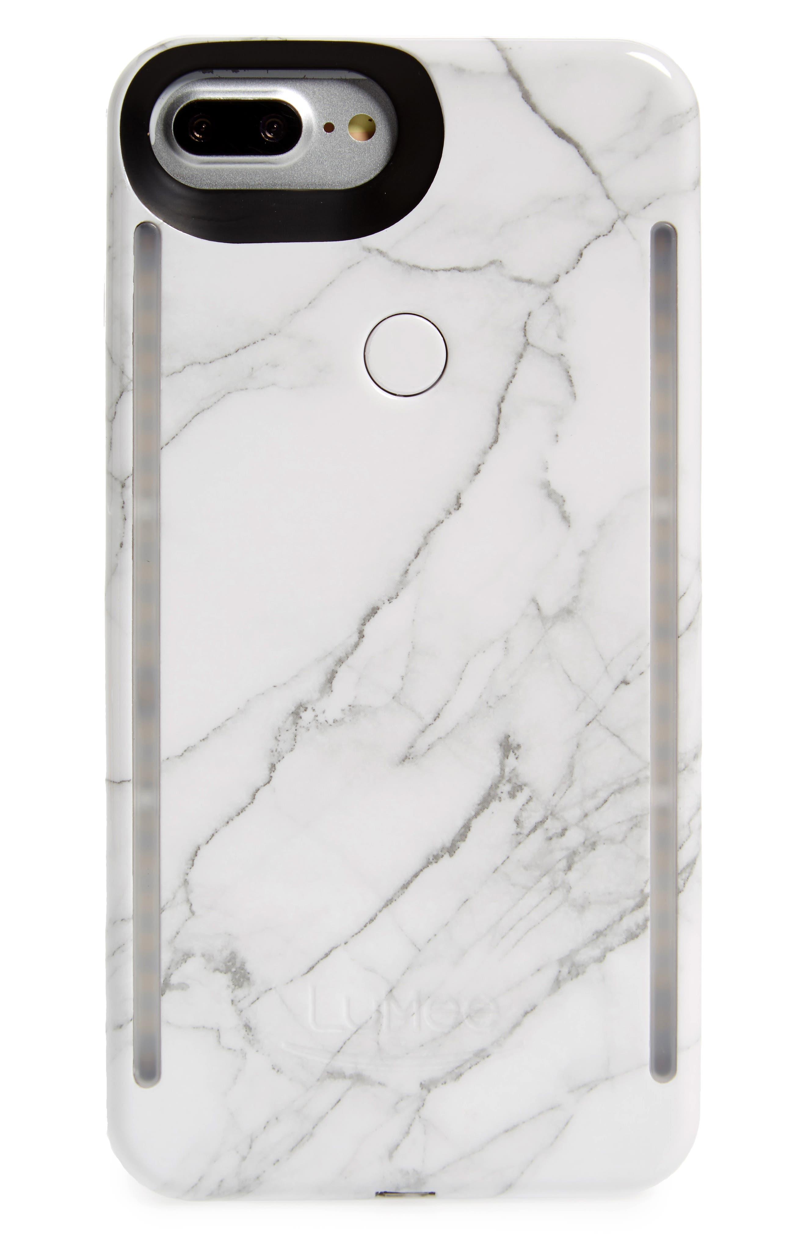 LuMee Duo Lighted iPhone 6/7/8 & 6/7/8 Plus Case
