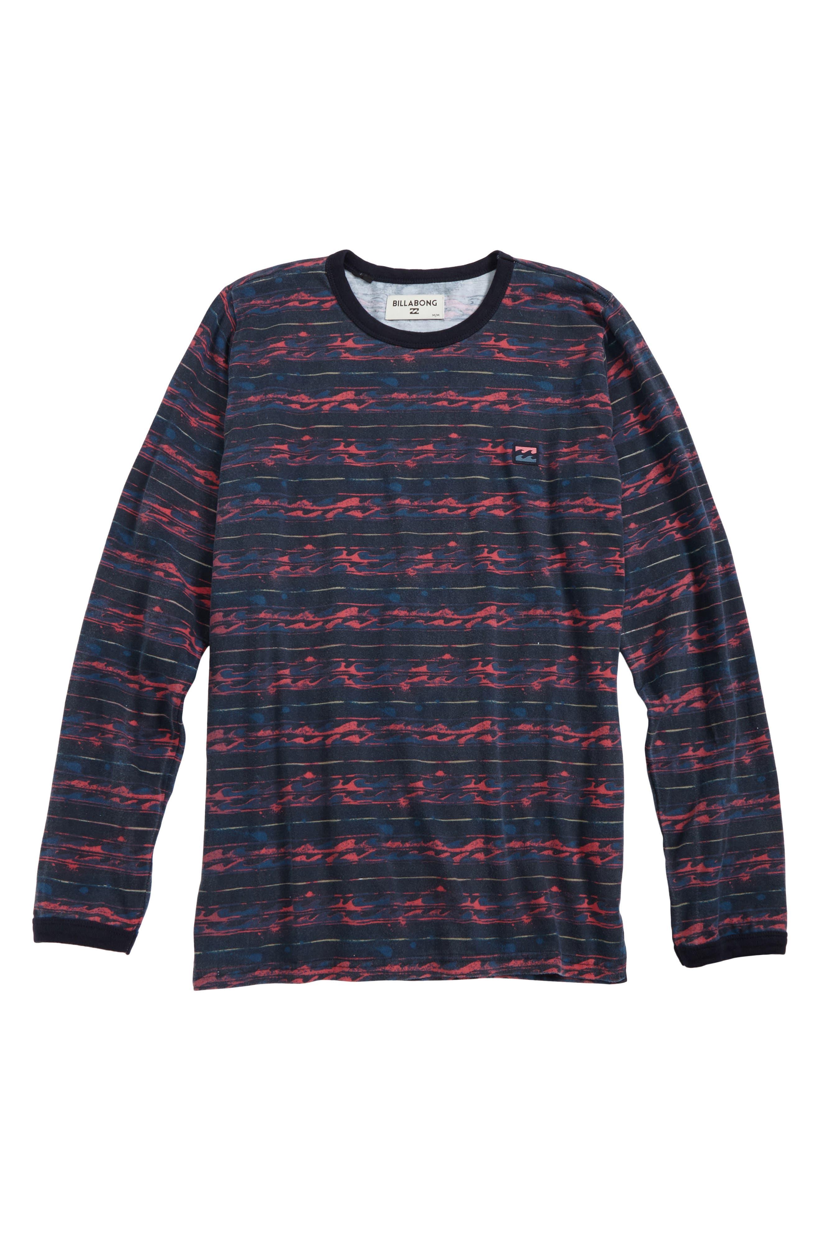 Nelson T-Shirt,                             Main thumbnail 1, color,                             Navy