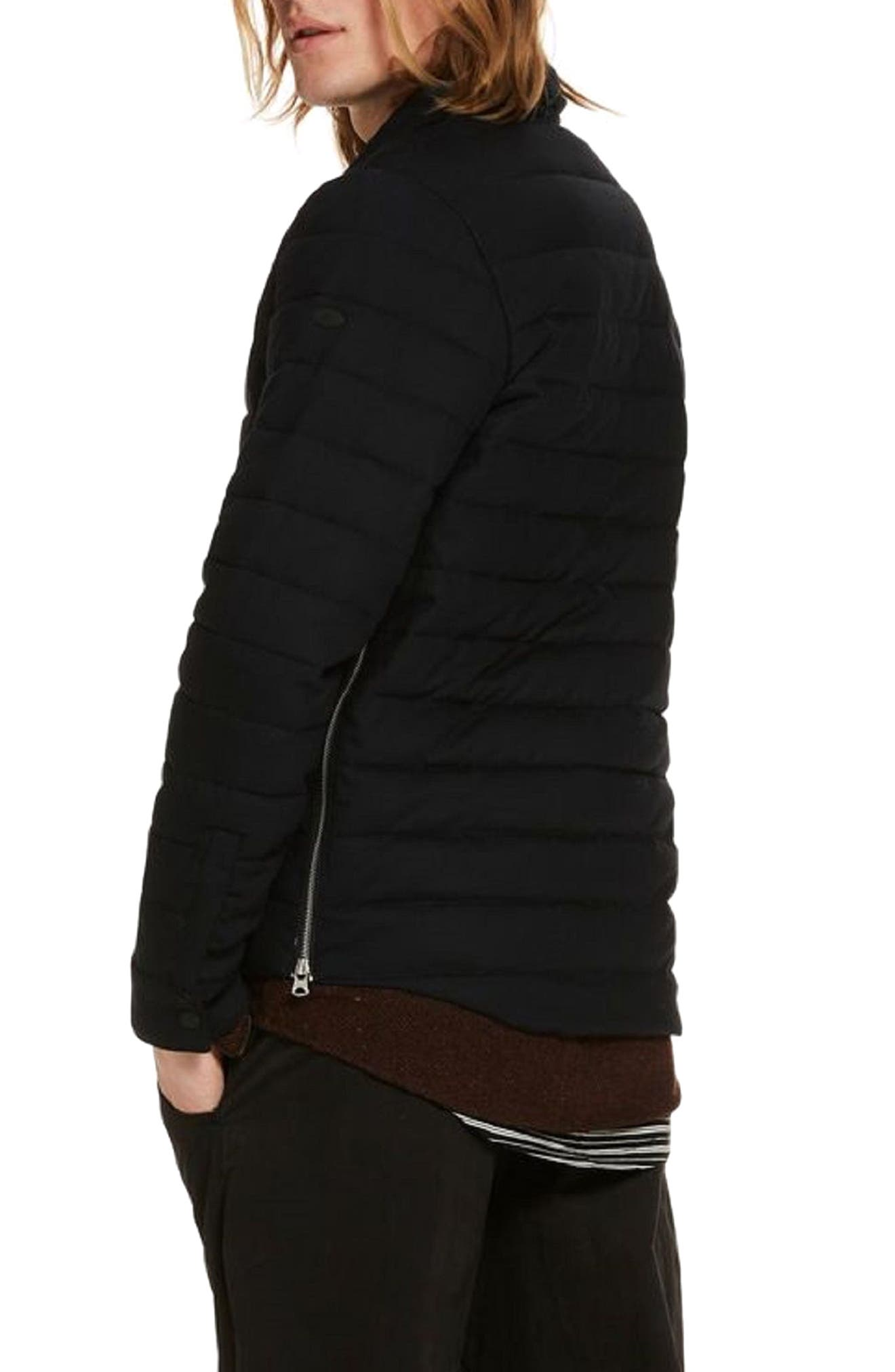 Quilted Jacket,                             Alternate thumbnail 2, color,                             Night