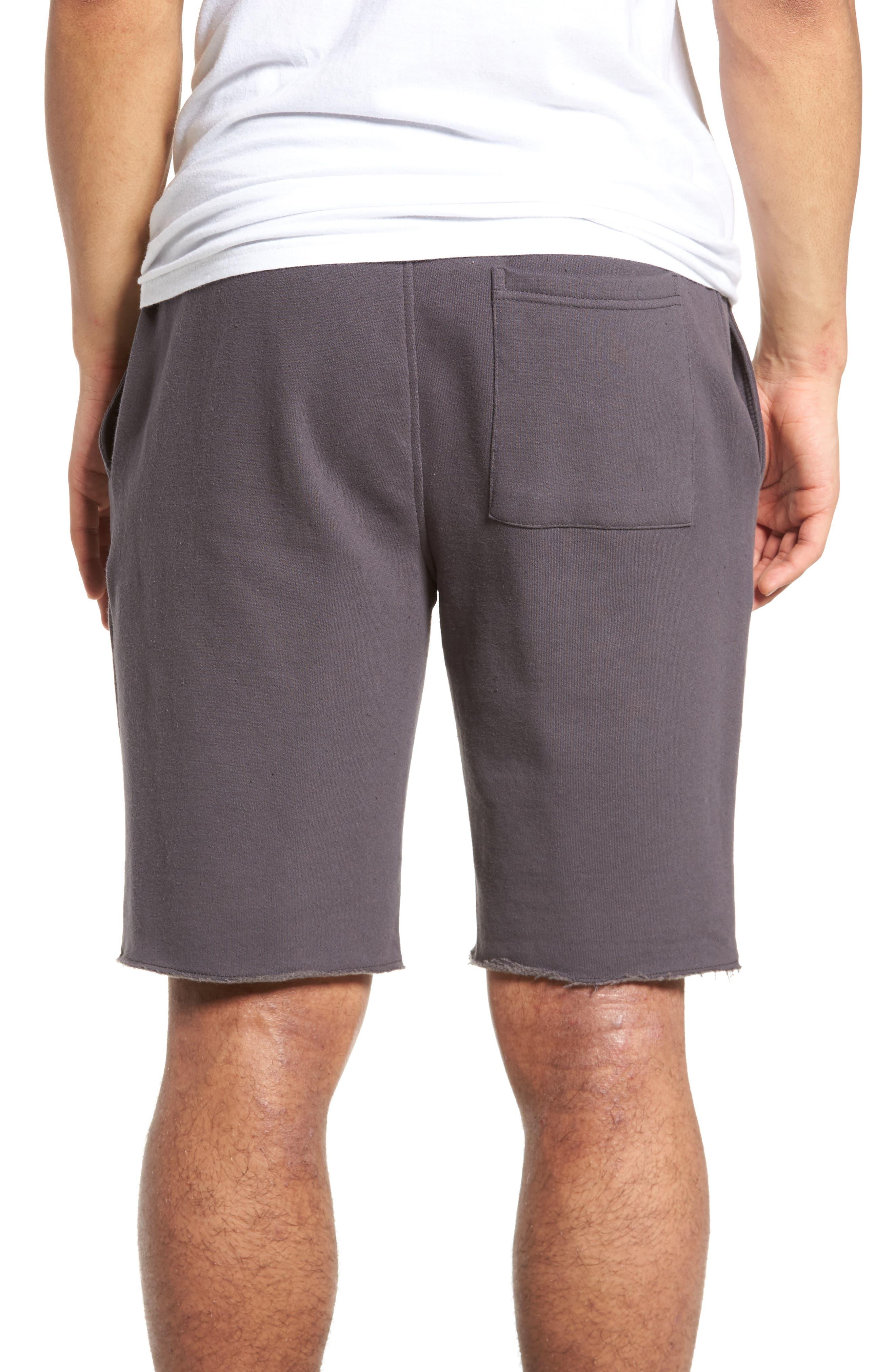 Fleece Shorts,                             Alternate thumbnail 2, color,                             Grey Onyx
