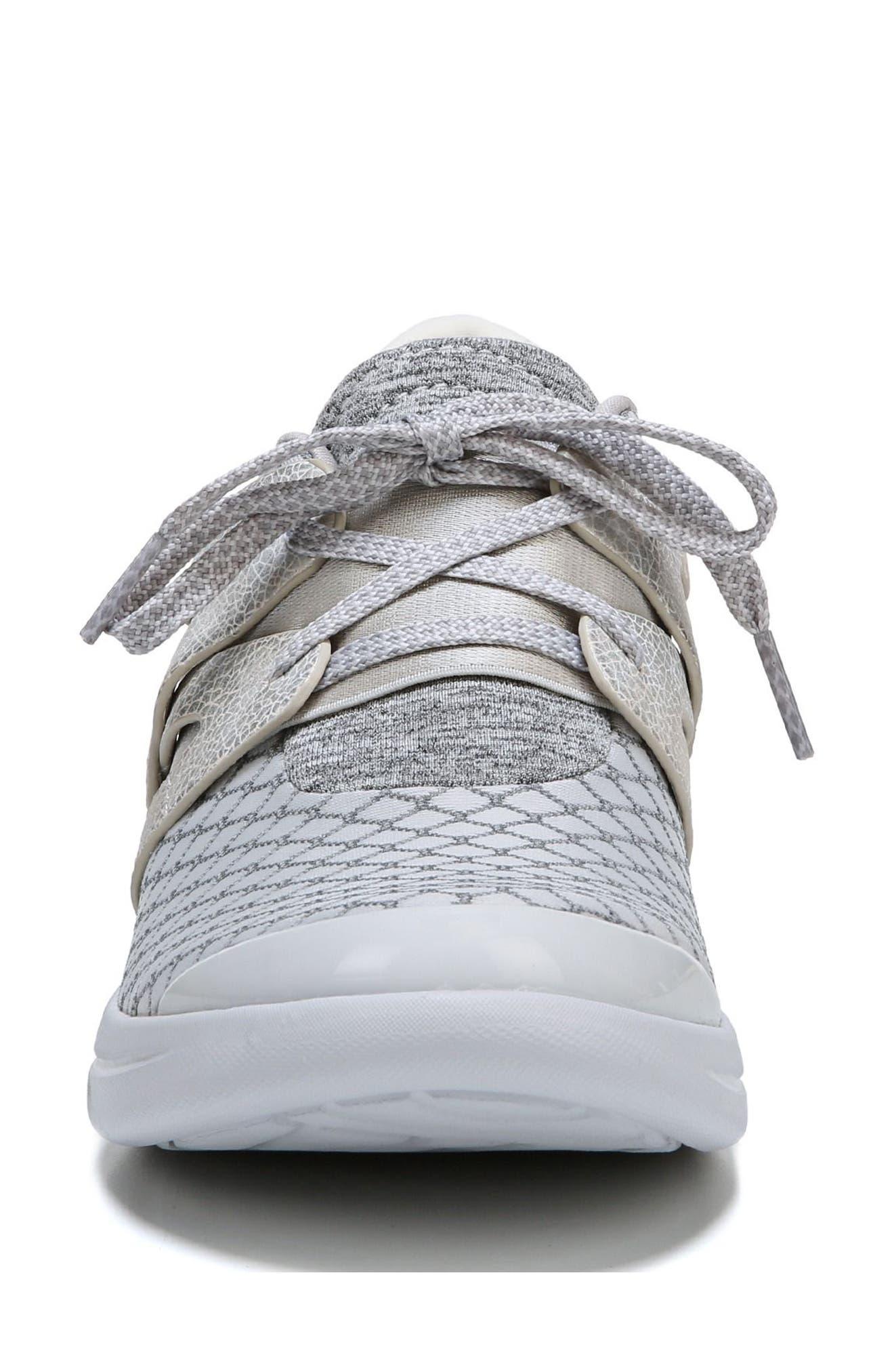 Flicker Sneaker,                             Alternate thumbnail 5, color,                             Grey Fabric