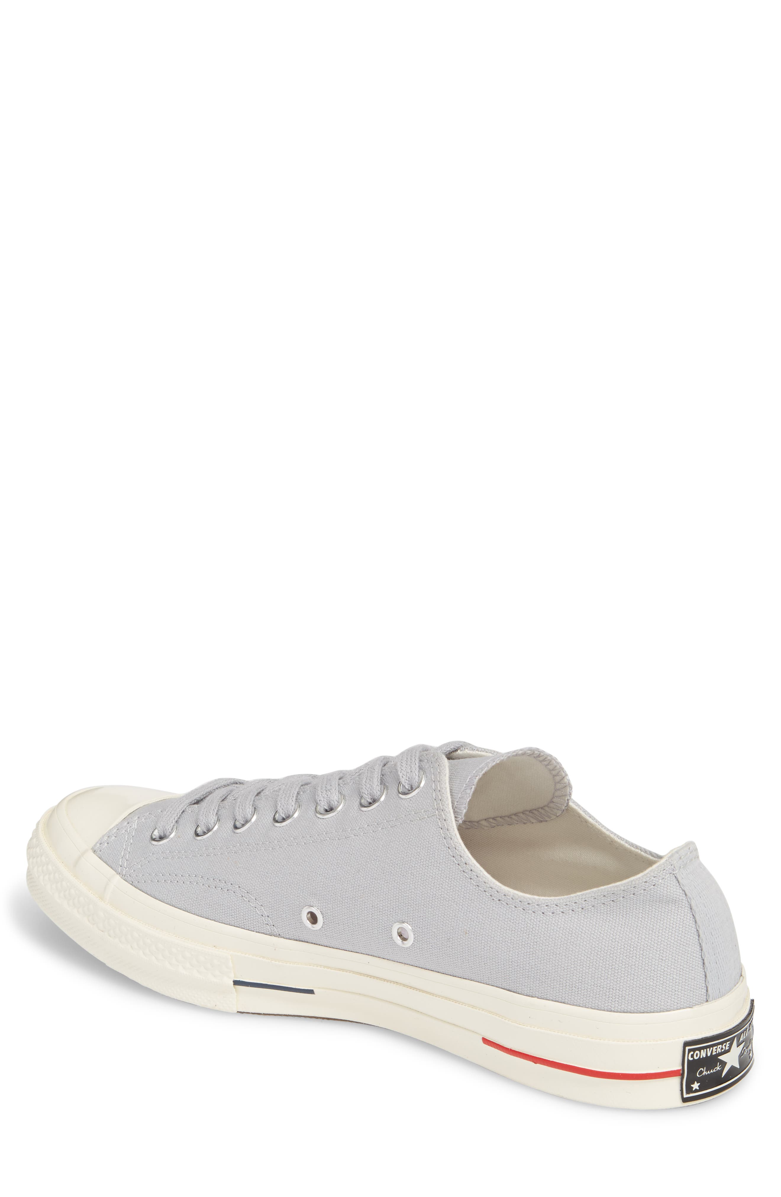 Chuck Taylor<sup>®</sup> All Star<sup>®</sup> 70 Heritage Low Top Sneaker,                             Alternate thumbnail 2, color,                             Wolf Grey