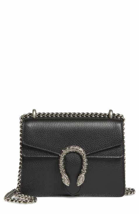 Gucci Mini Dionysus Leather Shoulder Bag
