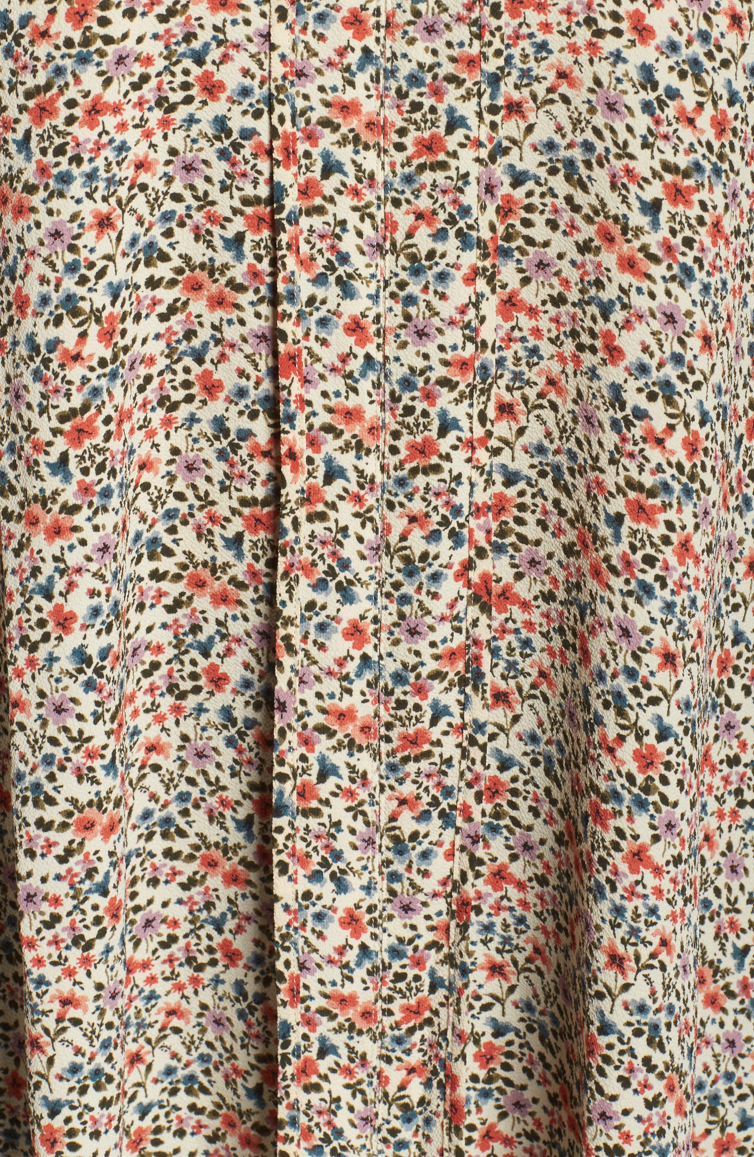 Alternate Image 5  - Bobeau Sleeveless Vintage Print Top (Plus Size)