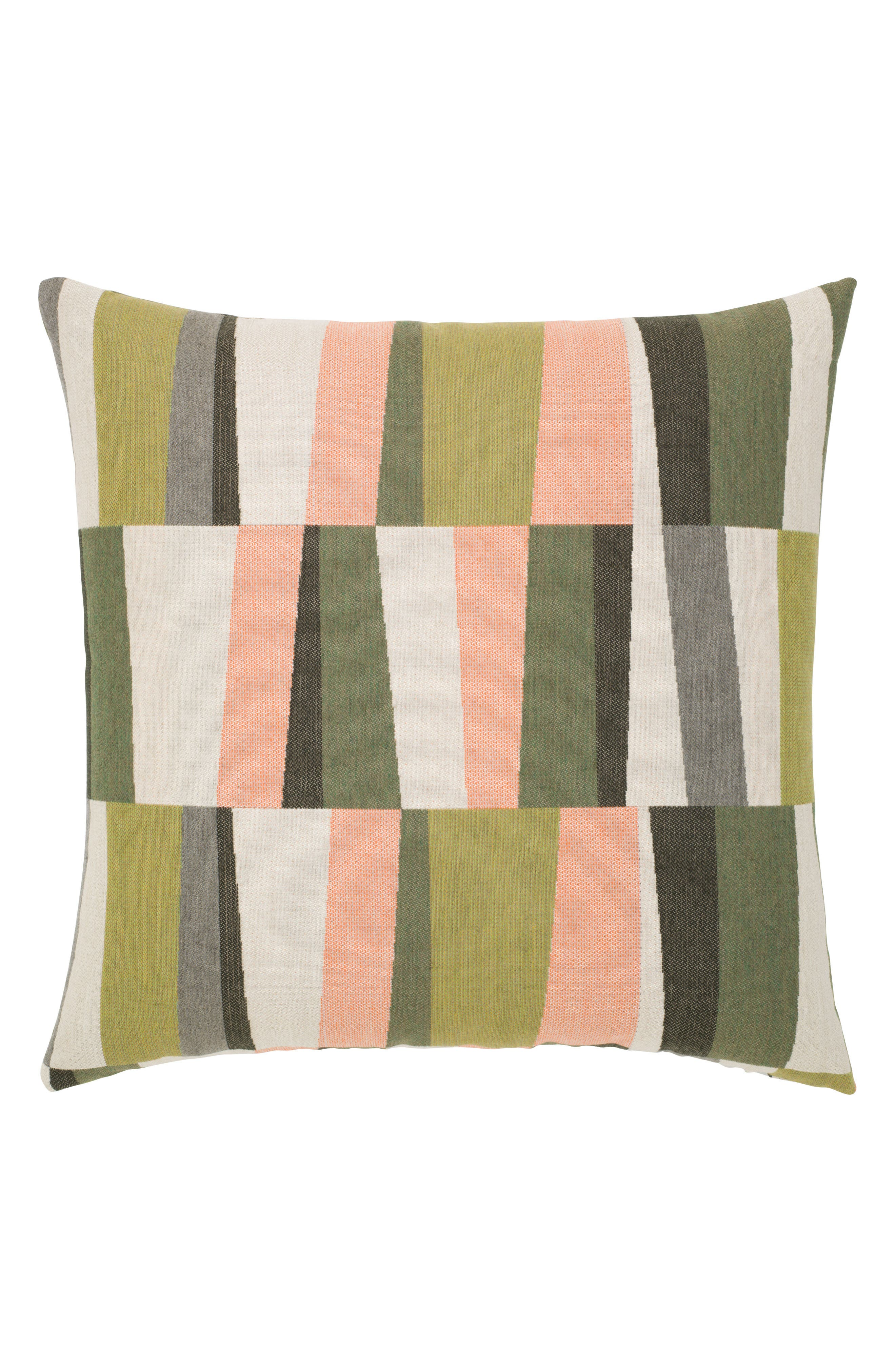 Strata Fern Indoor/Outdoor Accent Pillow,                         Main,                         color, Green Multi