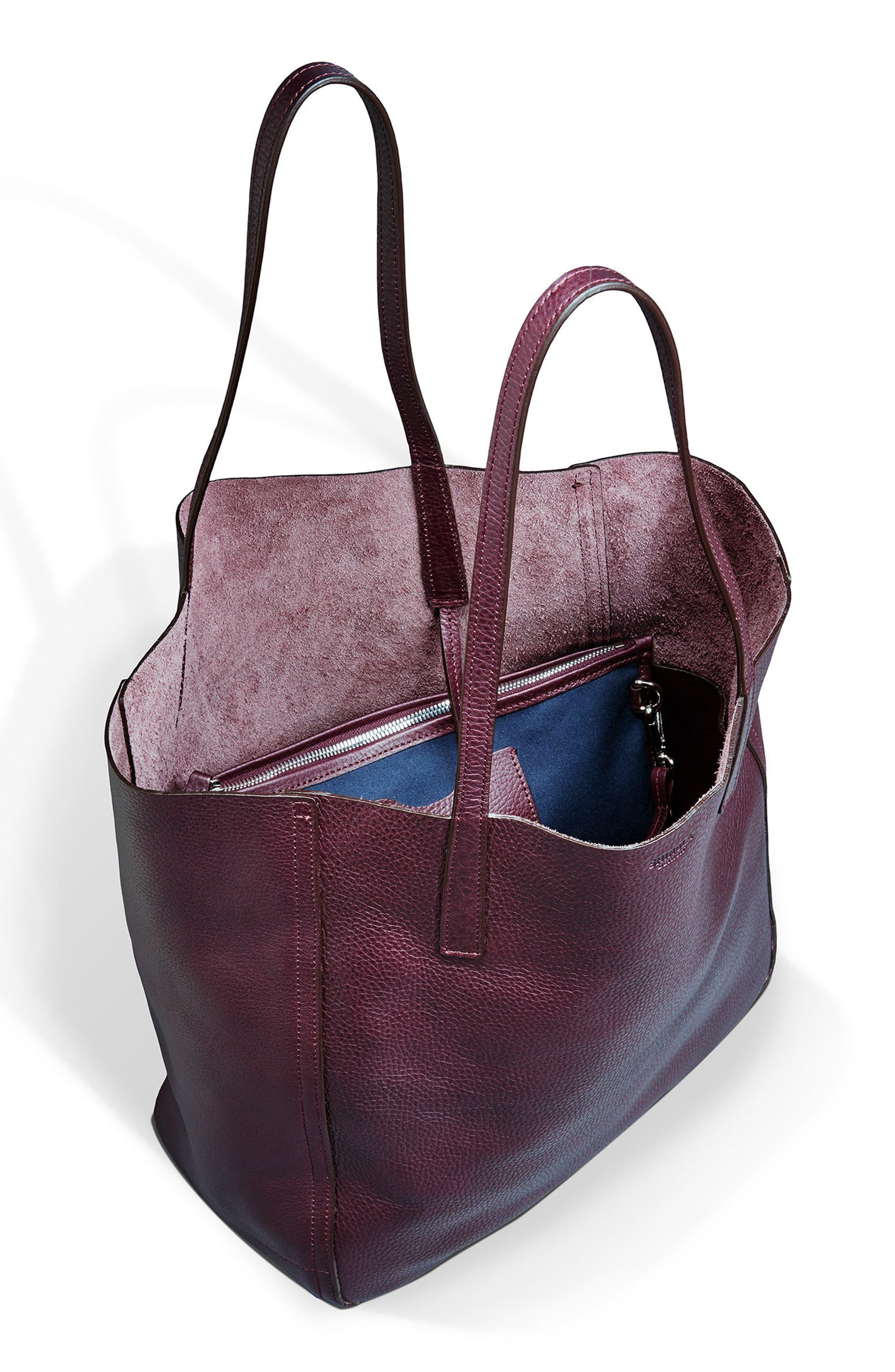 Alternate Image 3  - Shinola Medium Leather Shopper (Nordstrom Exclusive)
