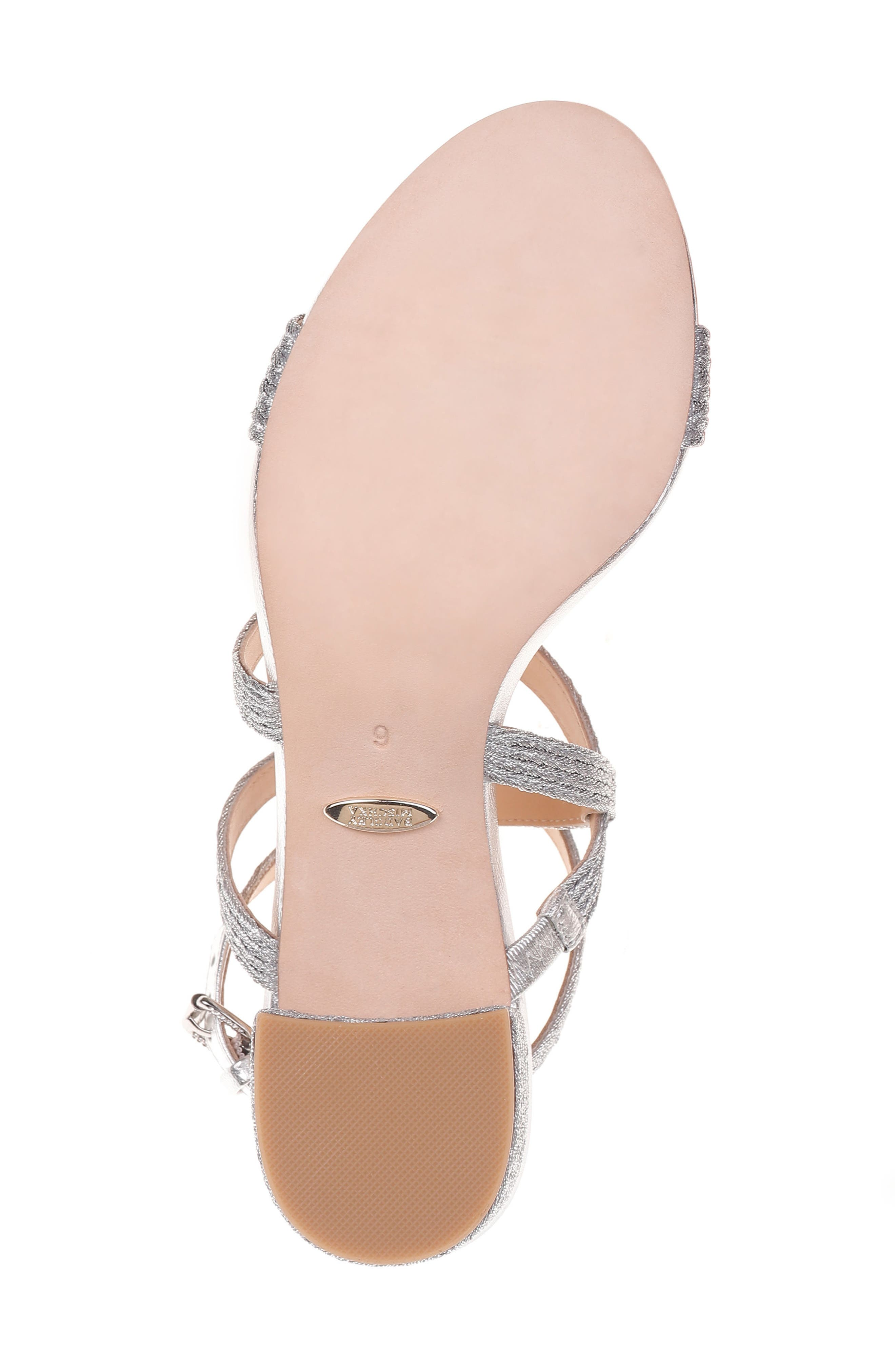Alternate Image 6  - Badgley Mischka Storm Block Heel Sandal (Women)