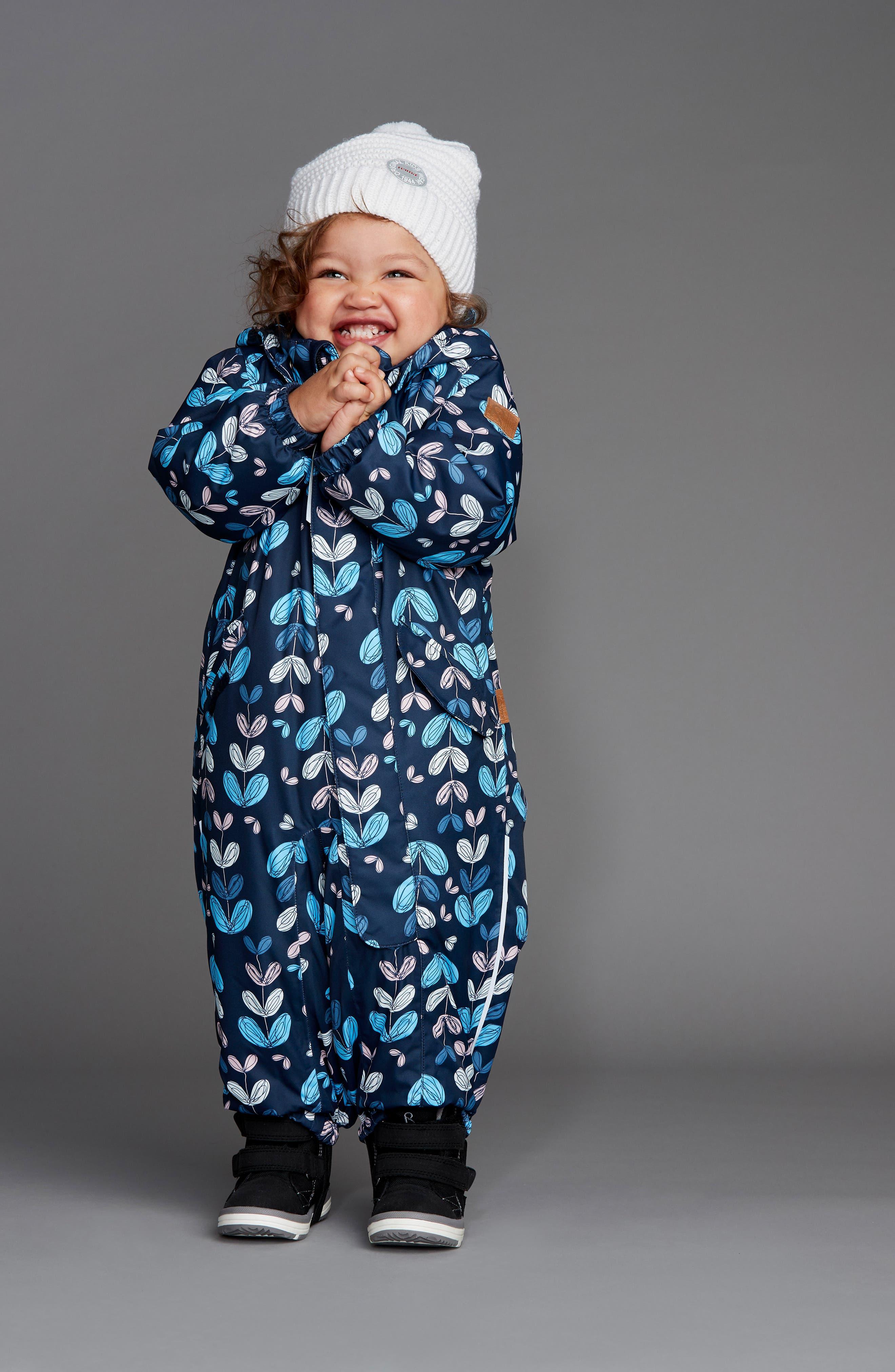 Alternate Image 3  - Reima Puna Reimatec® Waterproof Snow Suit (Toddler Girls)