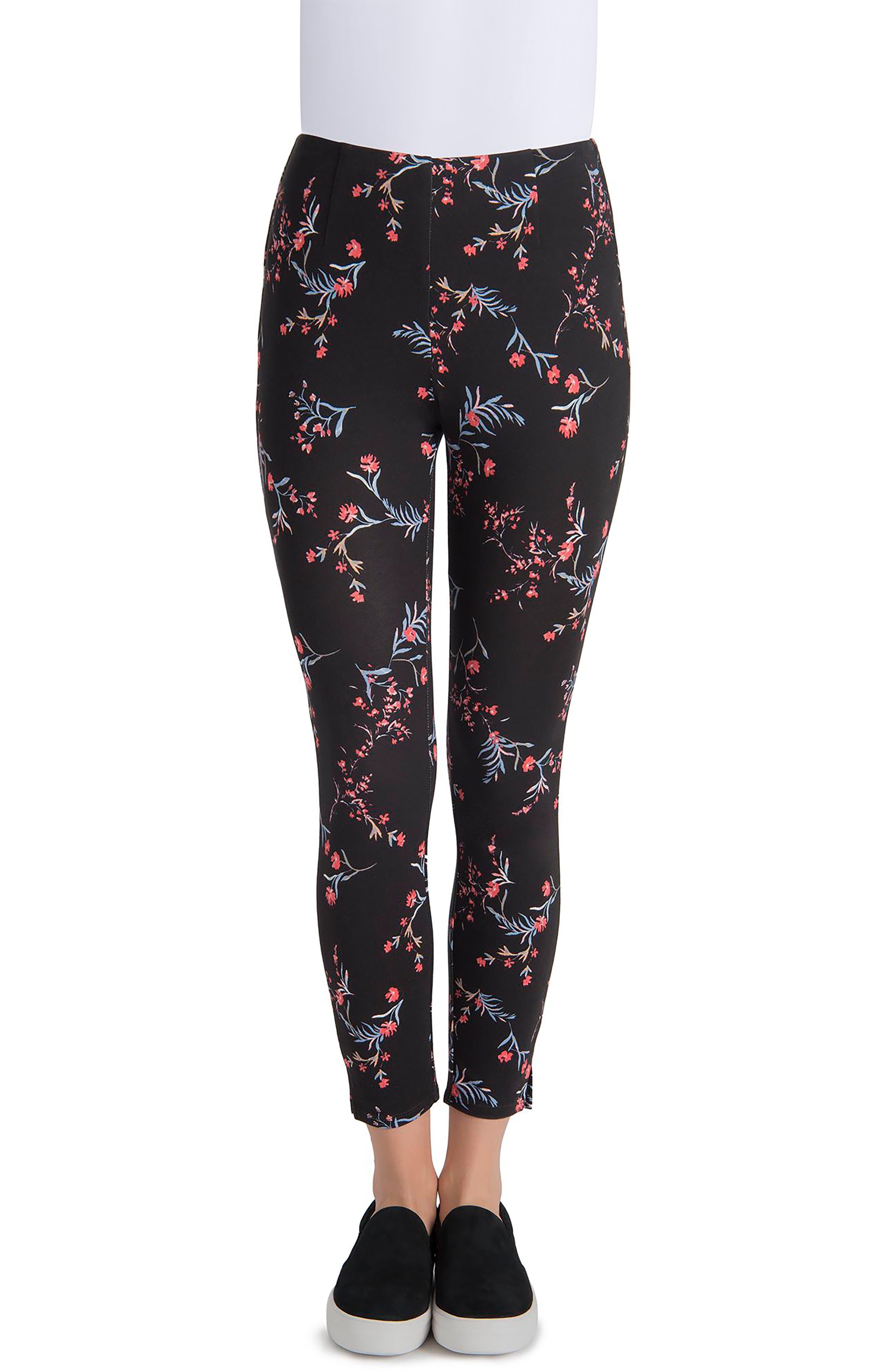 Audrey Ankle Leggings,                         Main,                         color, Dark Floral