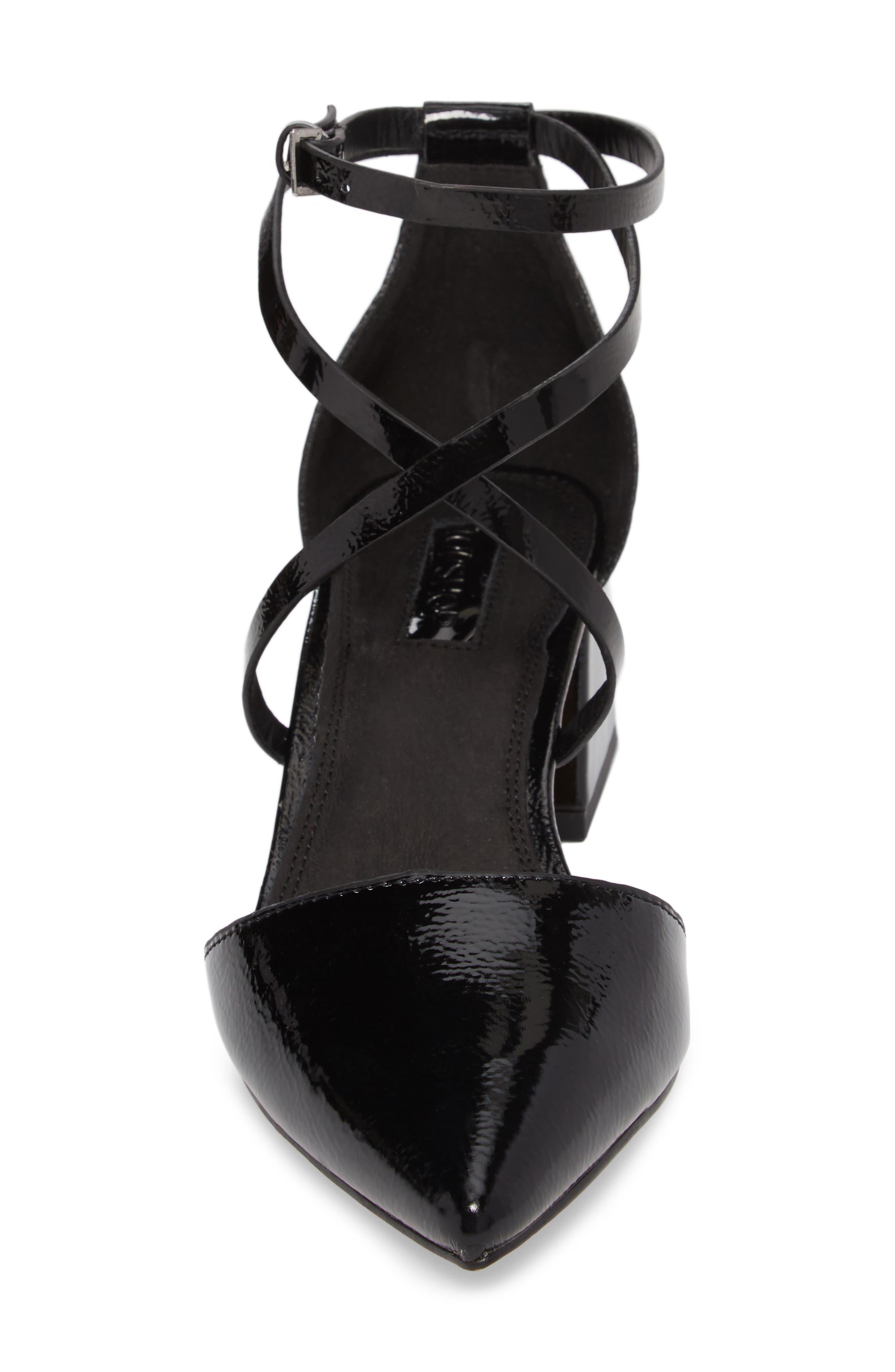 Alternate Image 4  - Topshop Jolly Flared Heel d'Orsay Pump (Women)