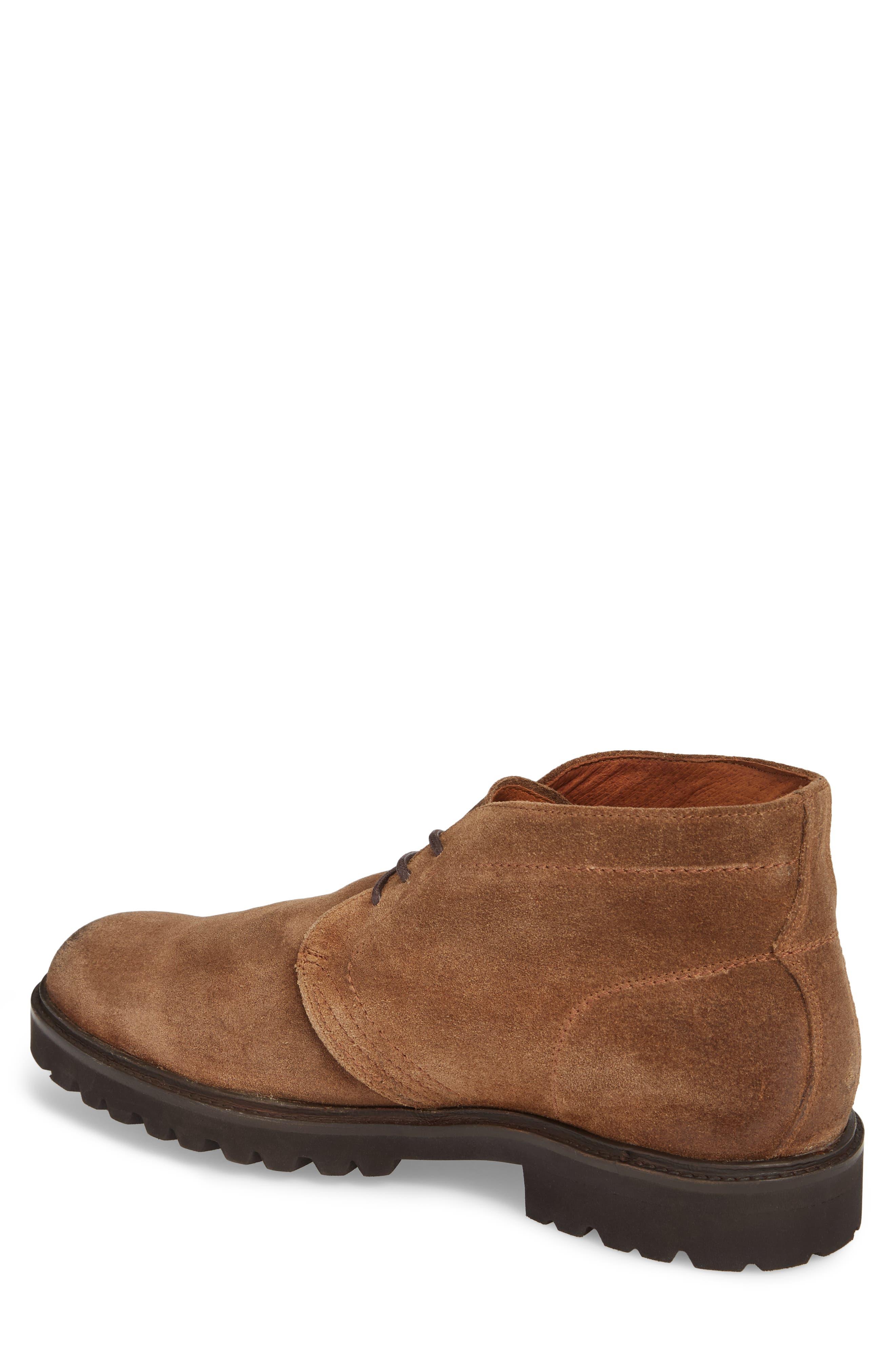 Edwin Waterproof Chukka Boot,                             Alternate thumbnail 2, color,                             Fawn Leather