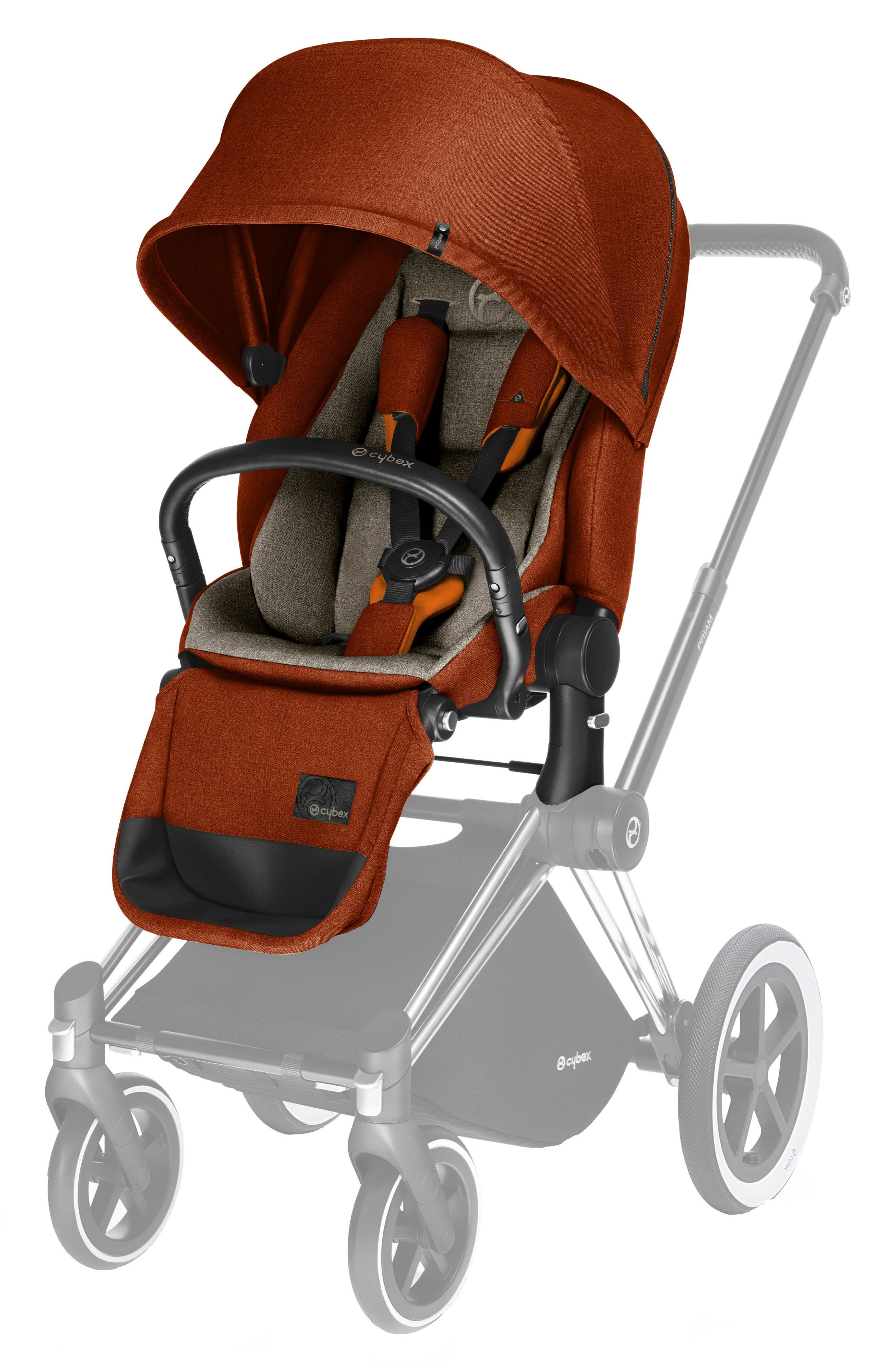 Priam Lux Seat for Priam Modular Stroller,                             Main thumbnail 1, color,                             Autumn Gold