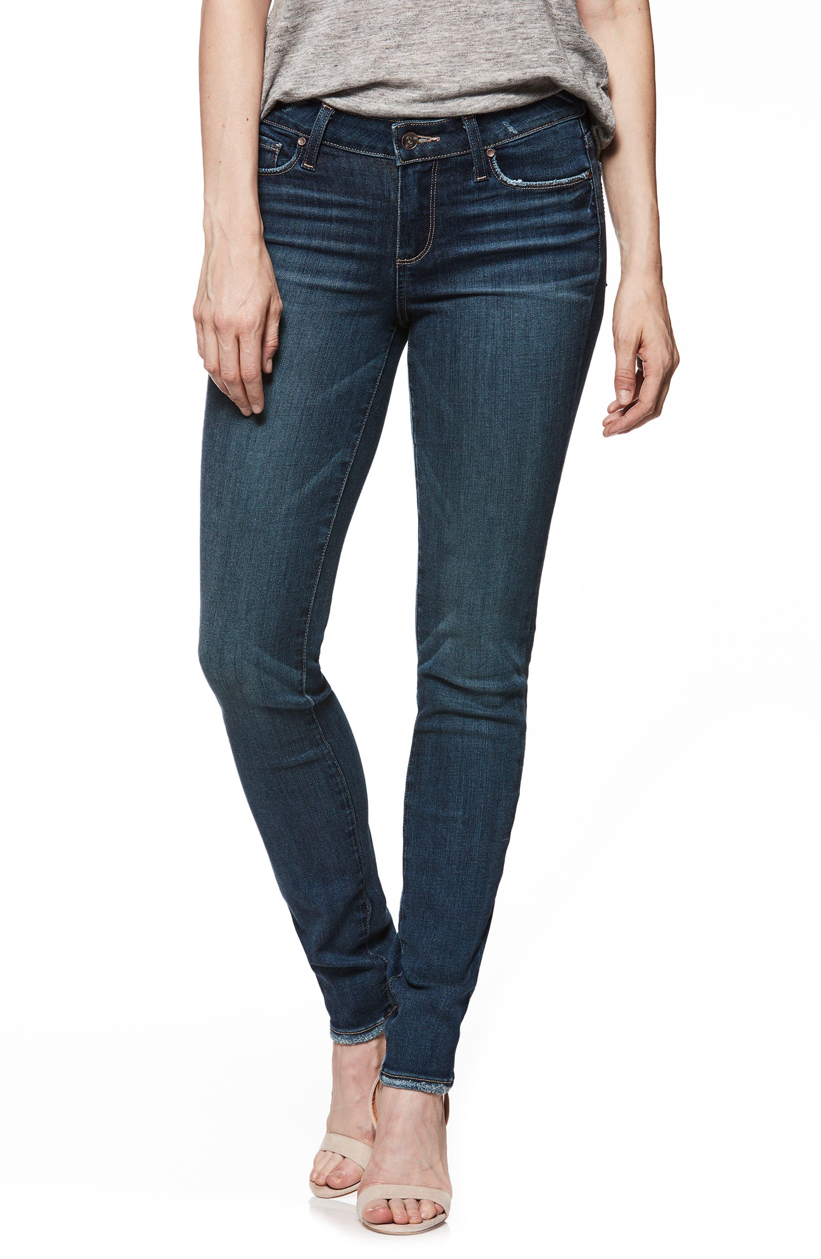 Transcend Vintage - Verdugo Ultra Skinny Jeans,                         Main,                         color, Emilio