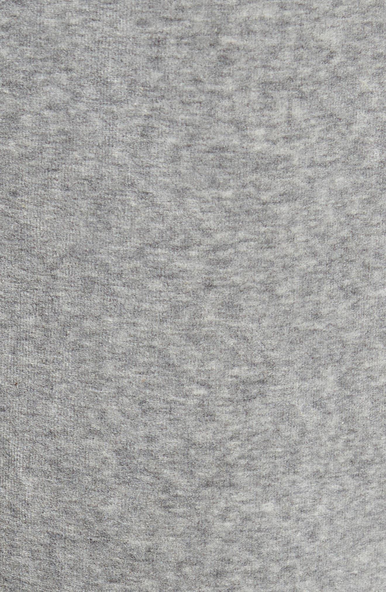 Marcus Track Pants,                             Alternate thumbnail 5, color,                             Varsity Heather/ Iron/ White