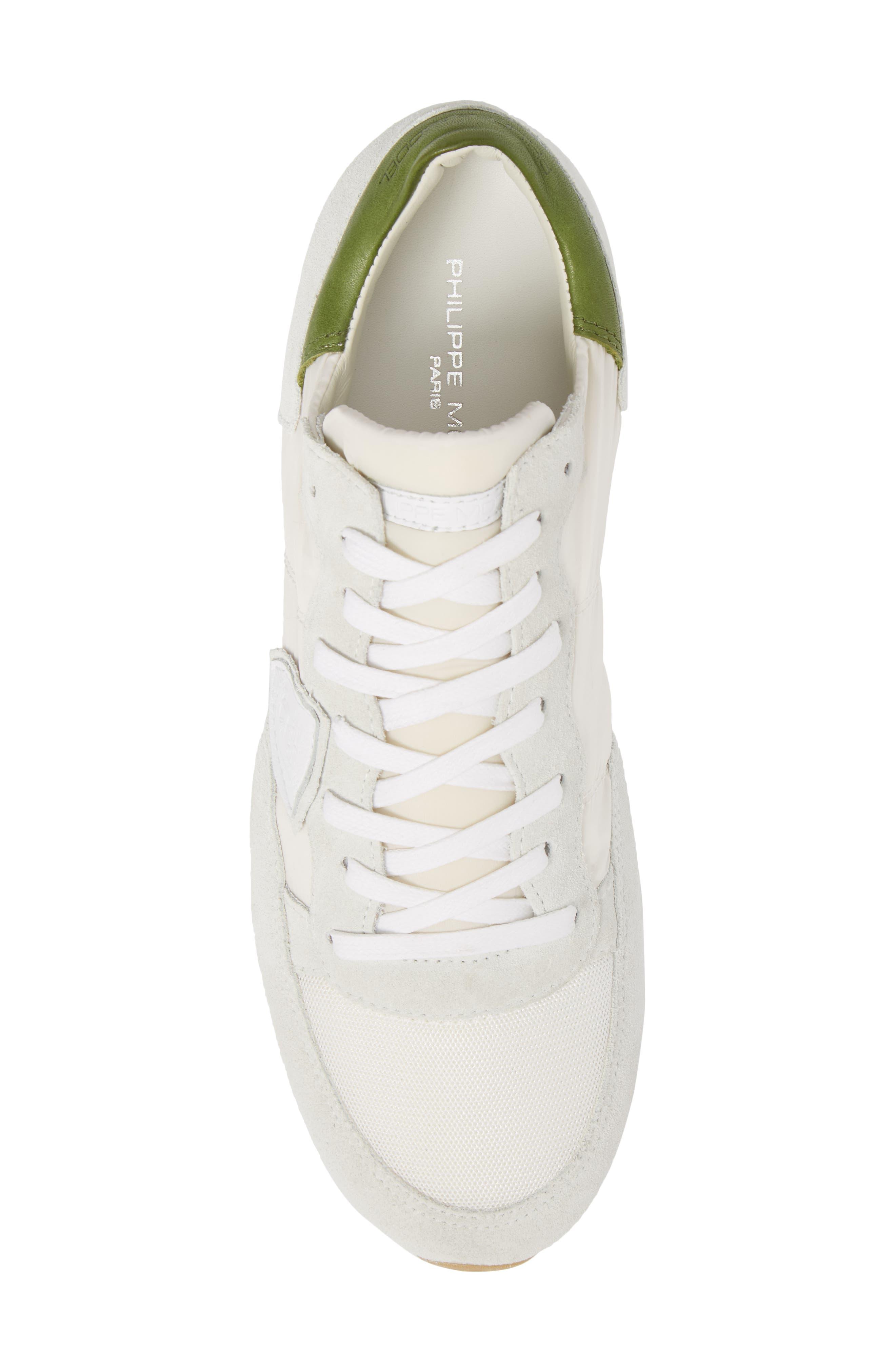 Tropez Sneaker,                             Alternate thumbnail 5, color,                             White/ Green