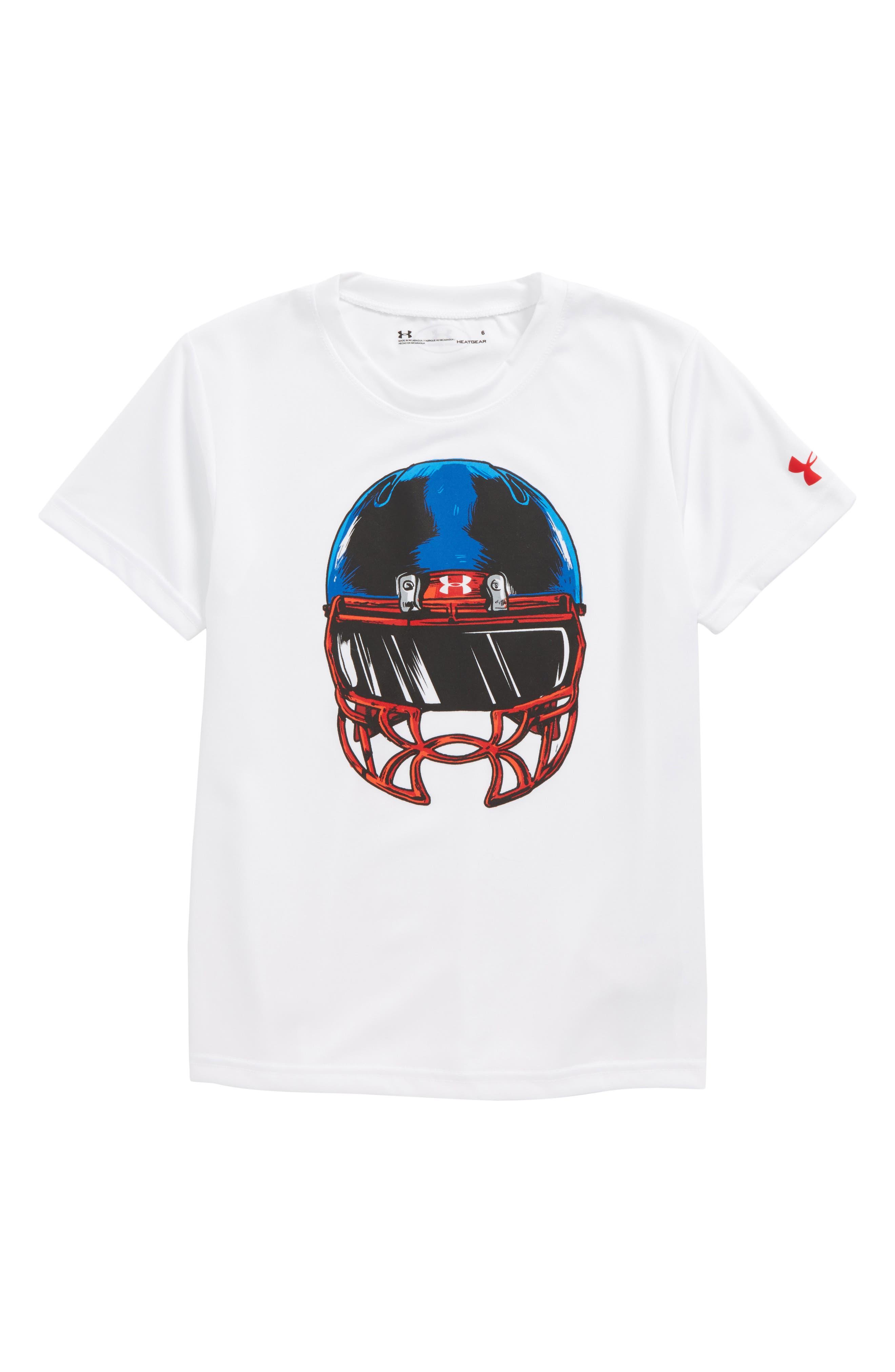 Under Armour Football Facemask HeatGear® T-Shirt (Toddler Boys & Little Boys)