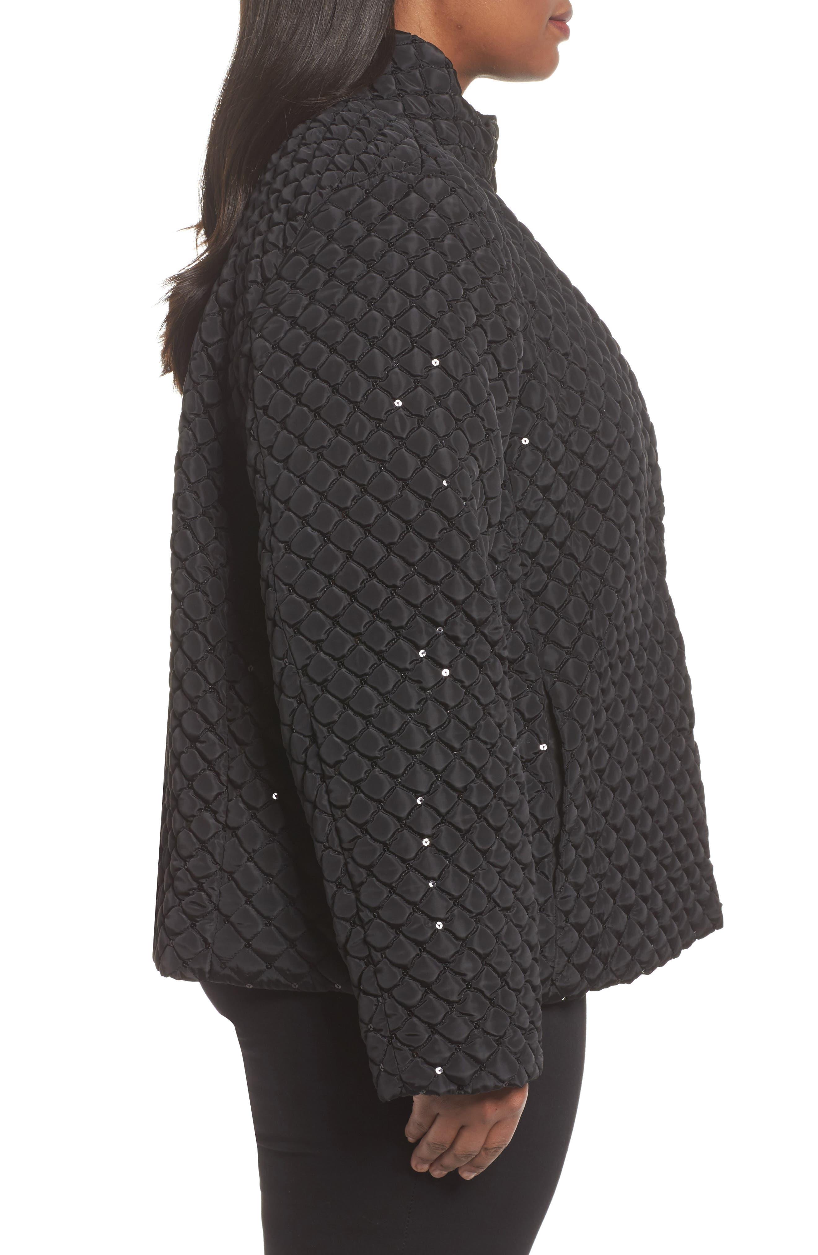 Alternate Image 3  - Persona by Marina Rinaldi Papaia Sequin Jacket (Plus Size)