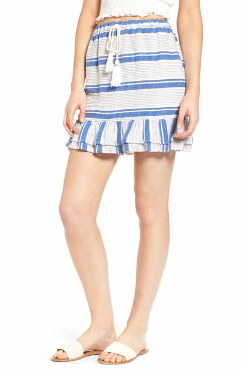Lost + Wander Bora Bora Drawcord Skirt