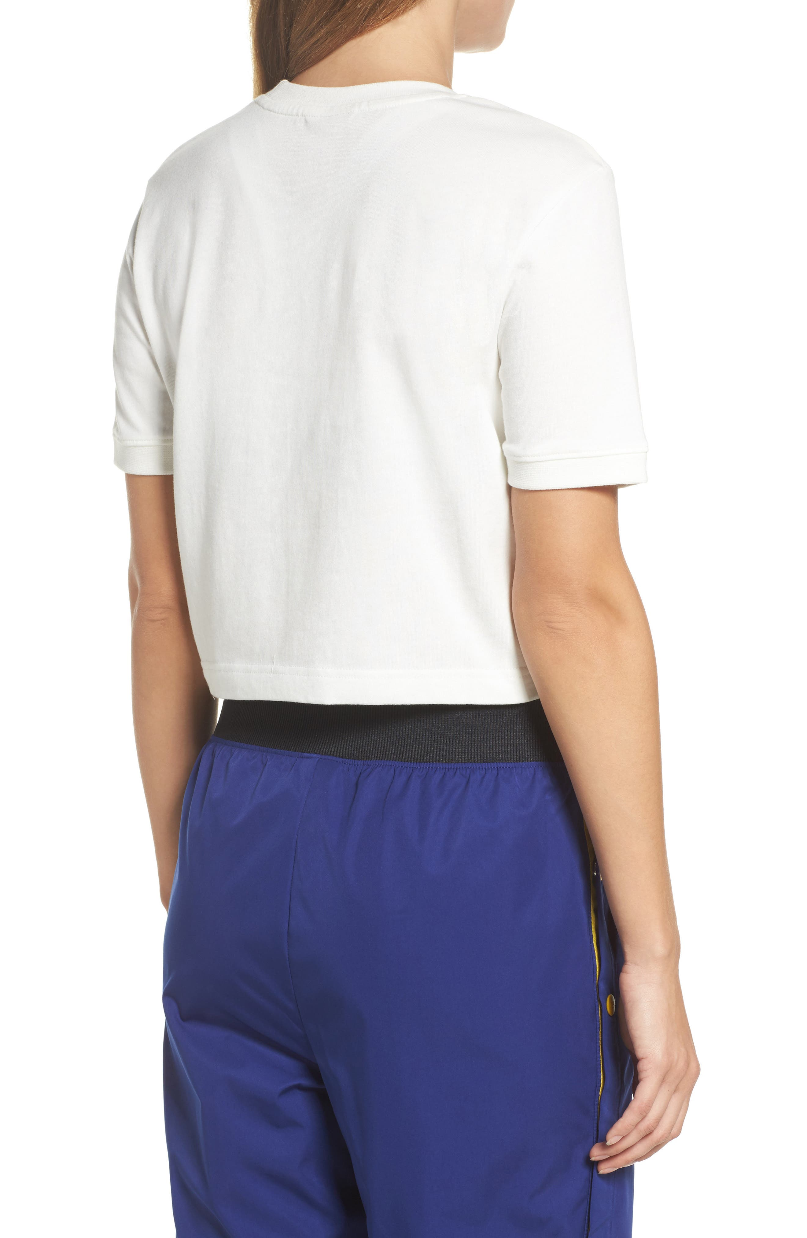 Sportswear Archive Crop Tee,                             Alternate thumbnail 2, color,                             Sail