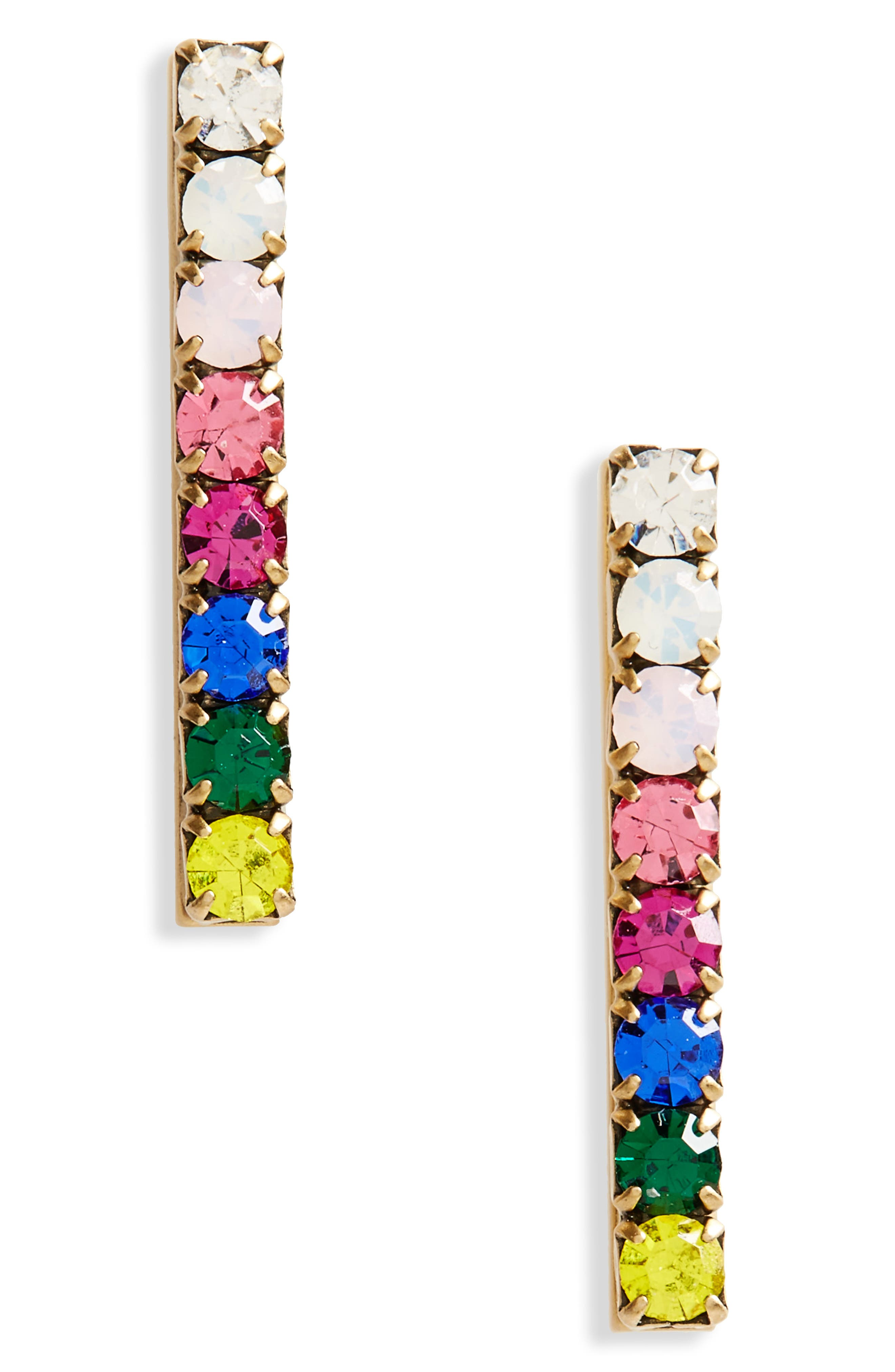 Loren Hope Paige Bar Stud Earrings