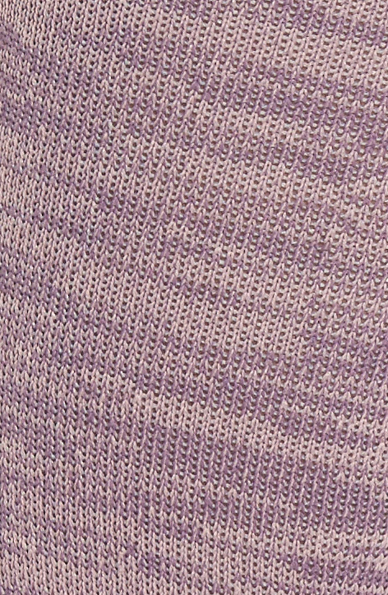 Slay Girl Athletic Crew Socks,                             Alternate thumbnail 3, color,                             Purple