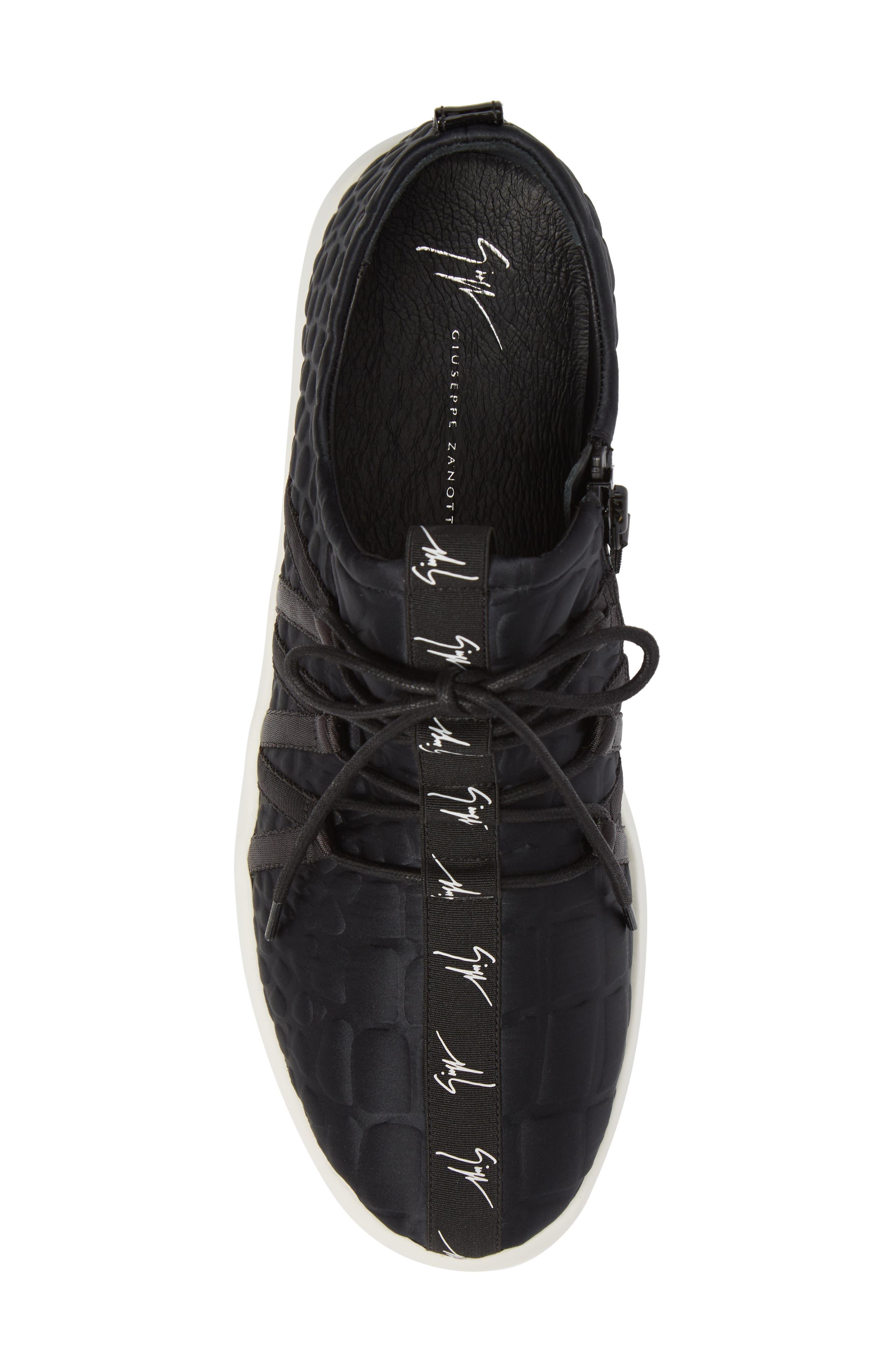 Sneaker,                             Alternate thumbnail 5, color,                             Black