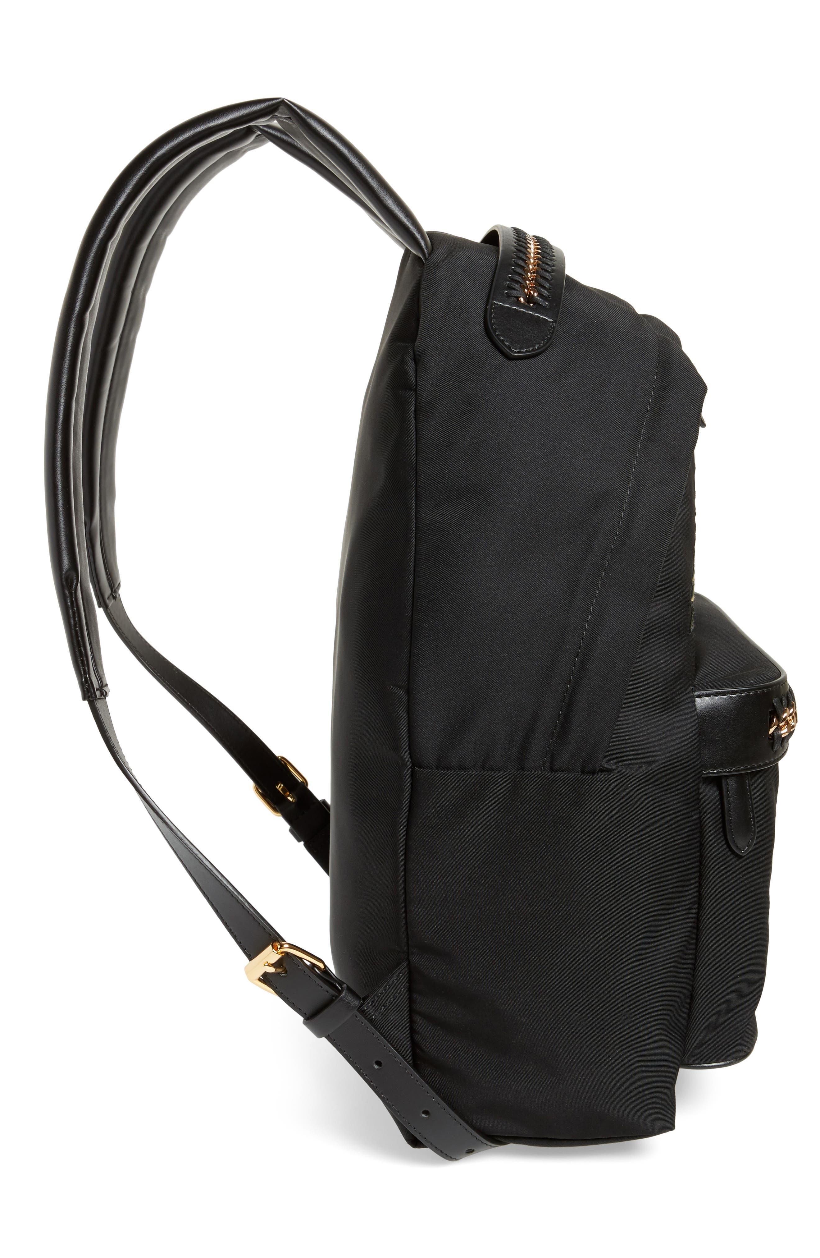 Alternate Image 5  - Stella McCartney Falabella Vintage Tropical Embroidery Backpack