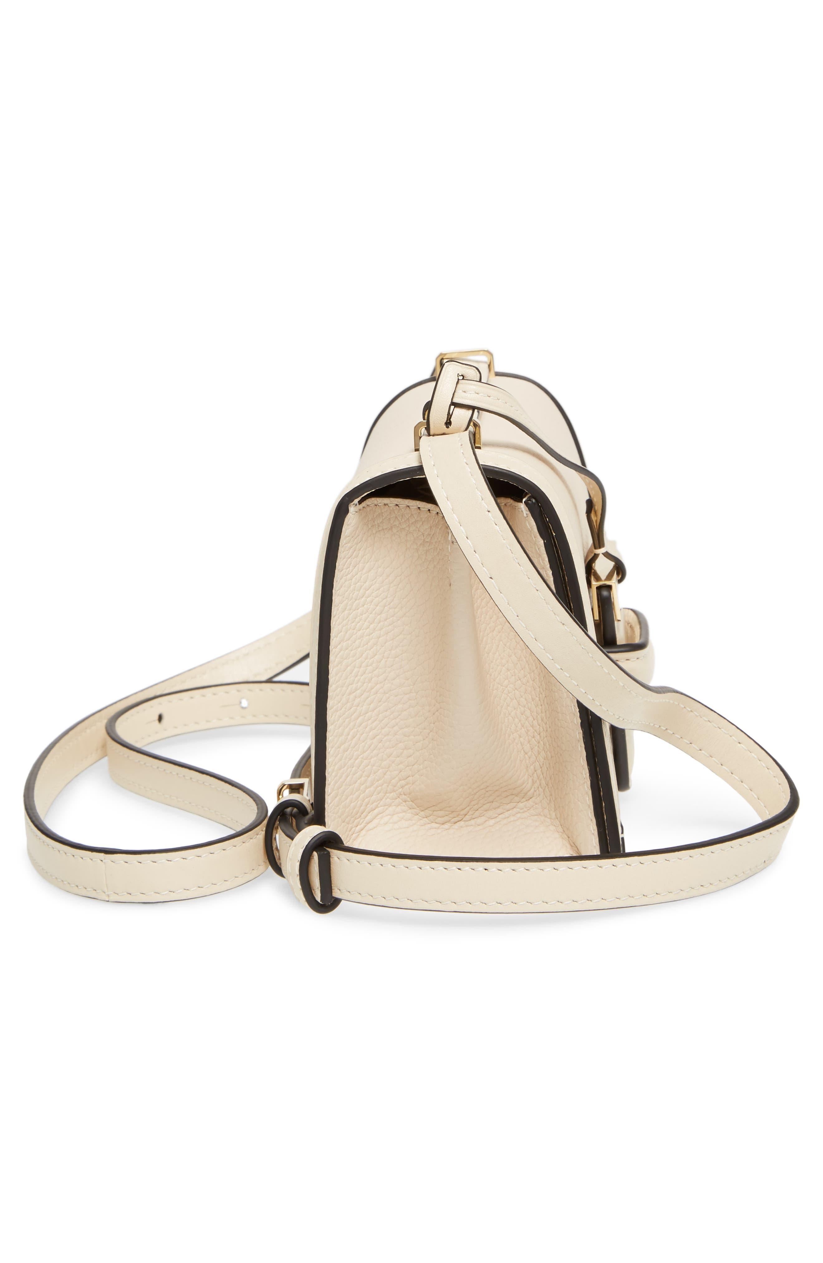 Alternate Image 5  - Loewe Small Barcelona Grainy Leather Crossbody Bag