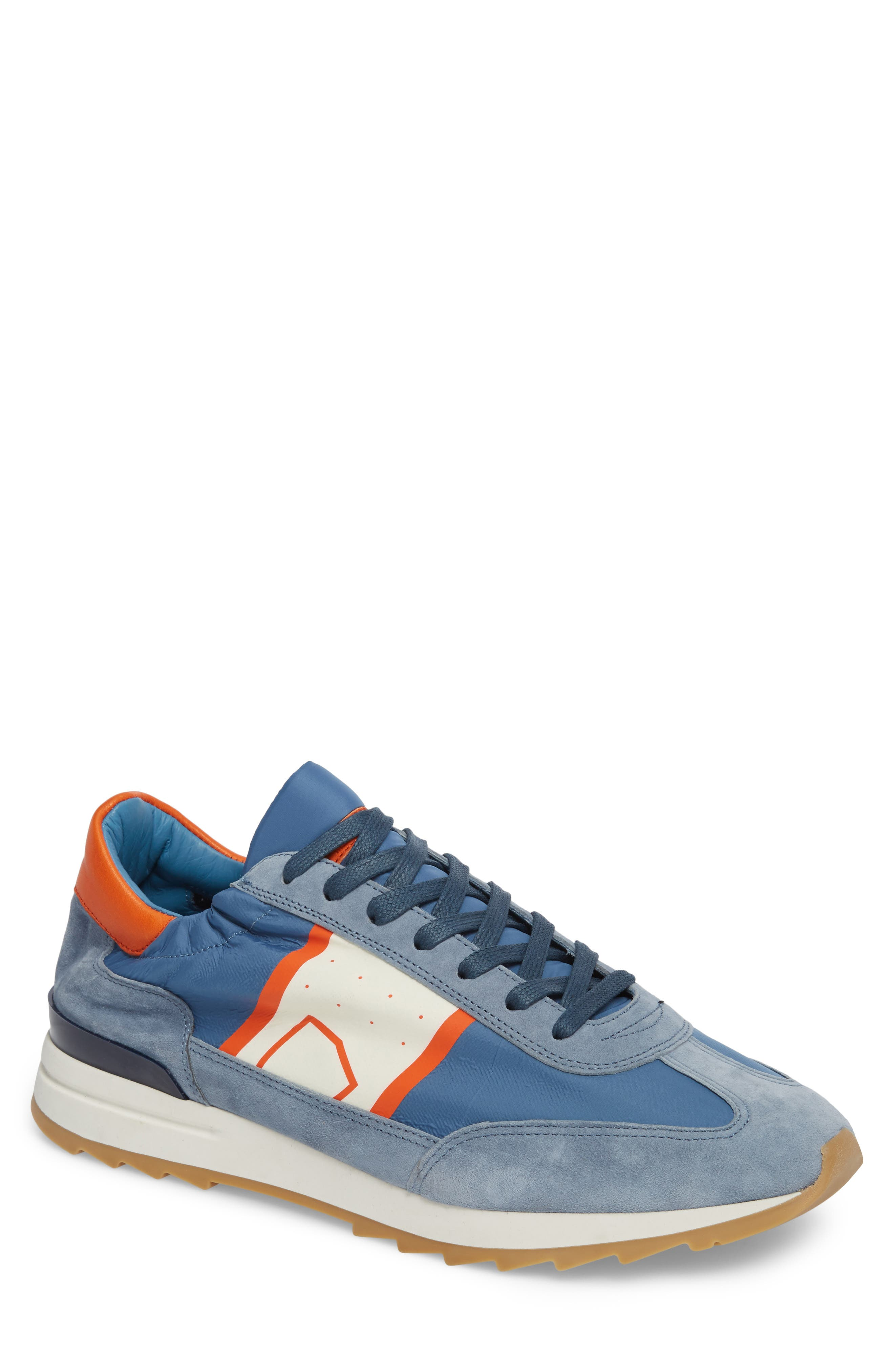 Toujours Sneaker,                         Main,                         color, Blue/ White